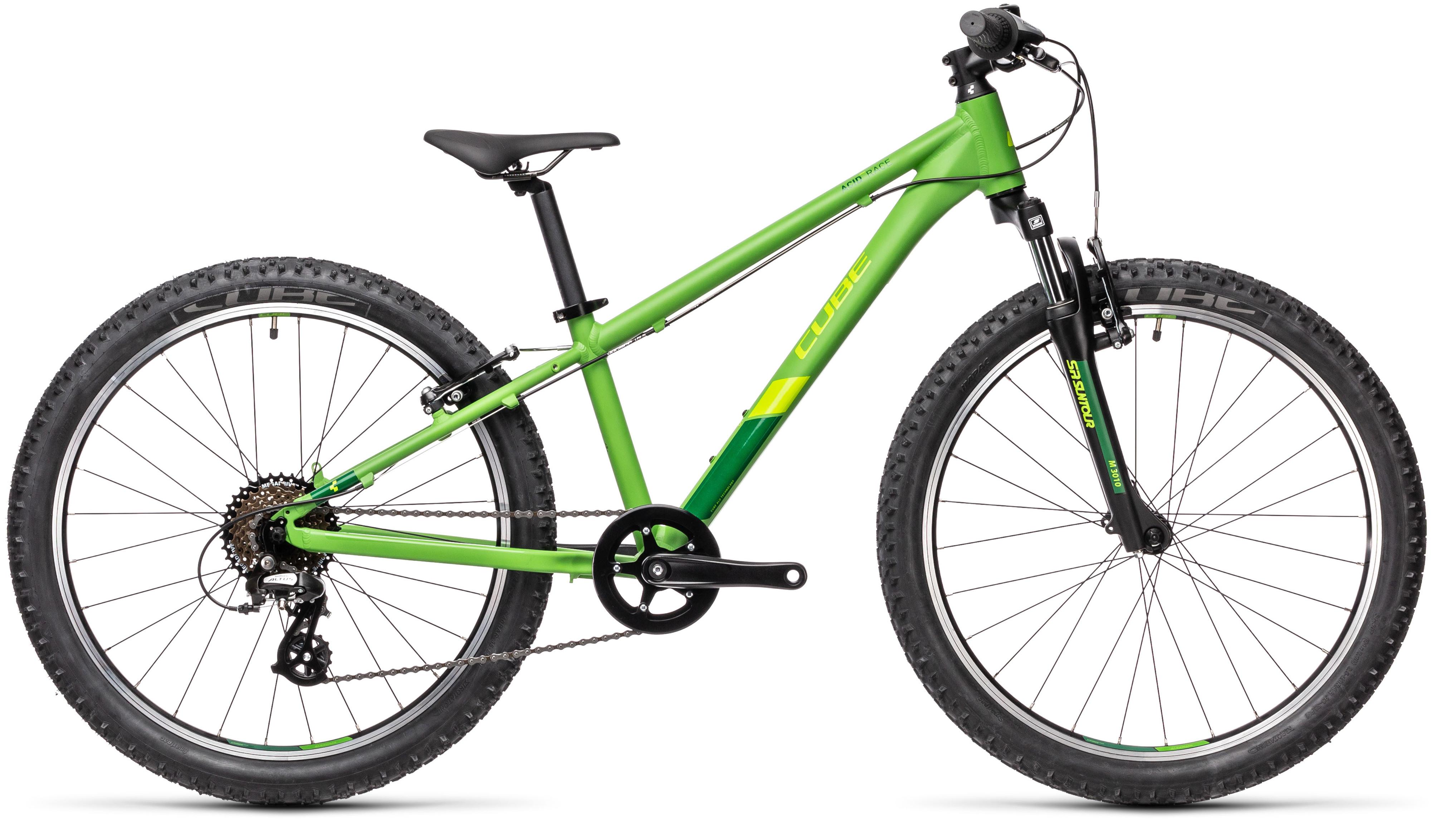 Cube Acid 240 Boys 24 Kids Bike 2021 Green/Pine
