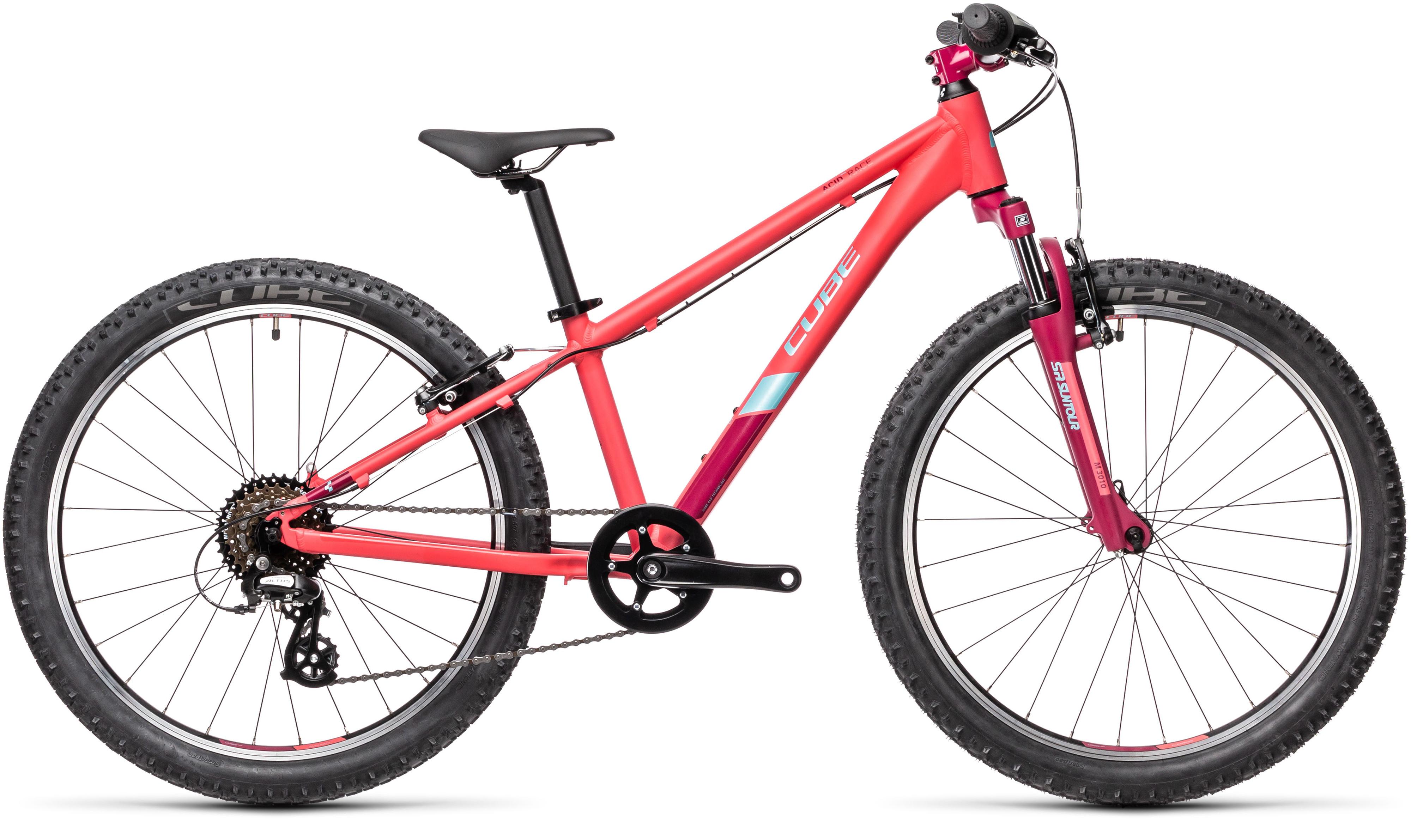 Cube Acid 240 24in Wheel Kids Bike 2021 Coral
