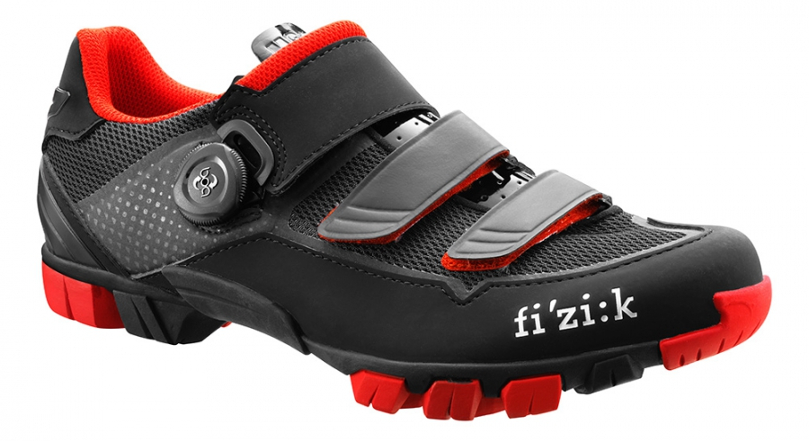 Fizik M6b Mtb Shoes Black/red