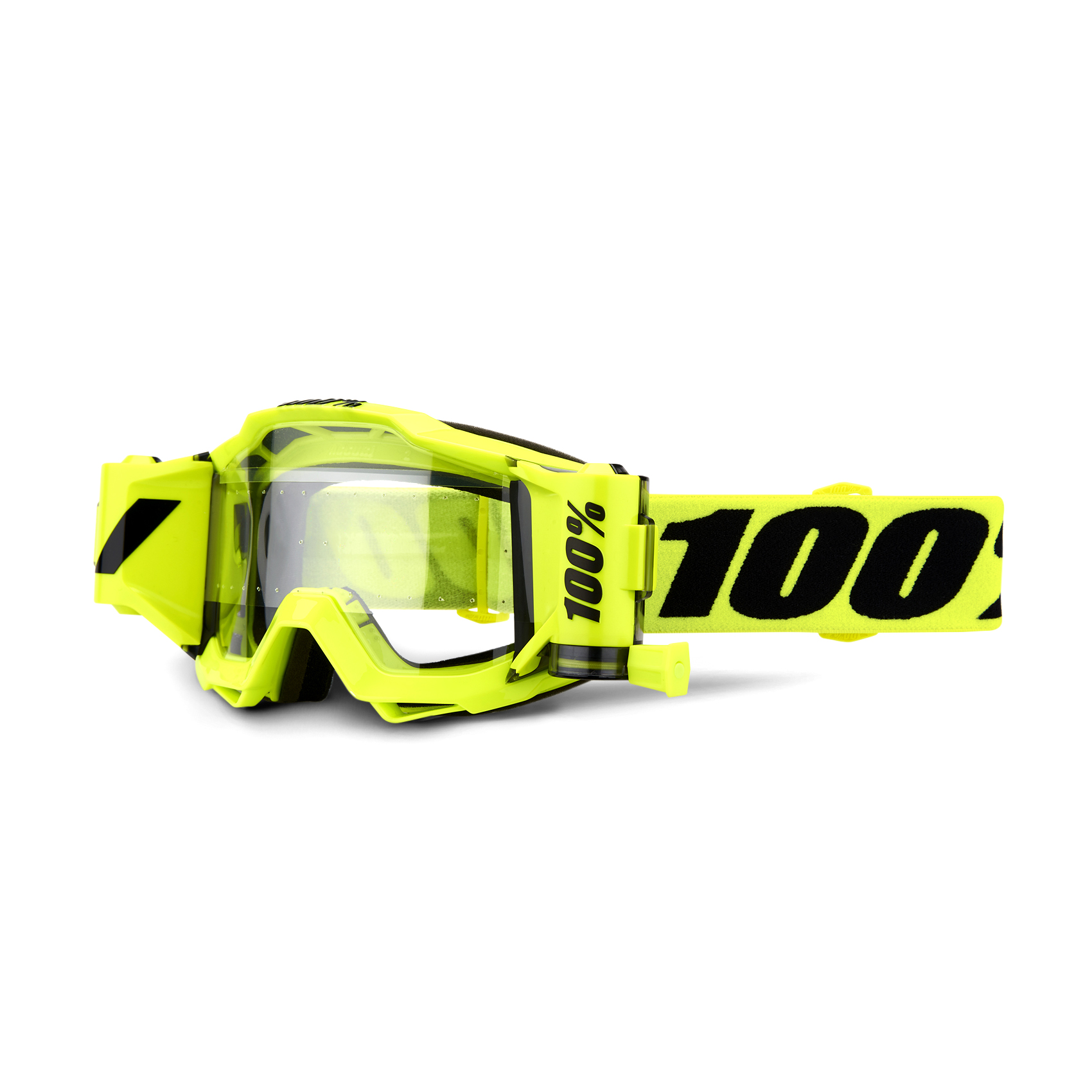 100 Percent Accuri Forecast Goggle Fluo Yellow/clear Lens