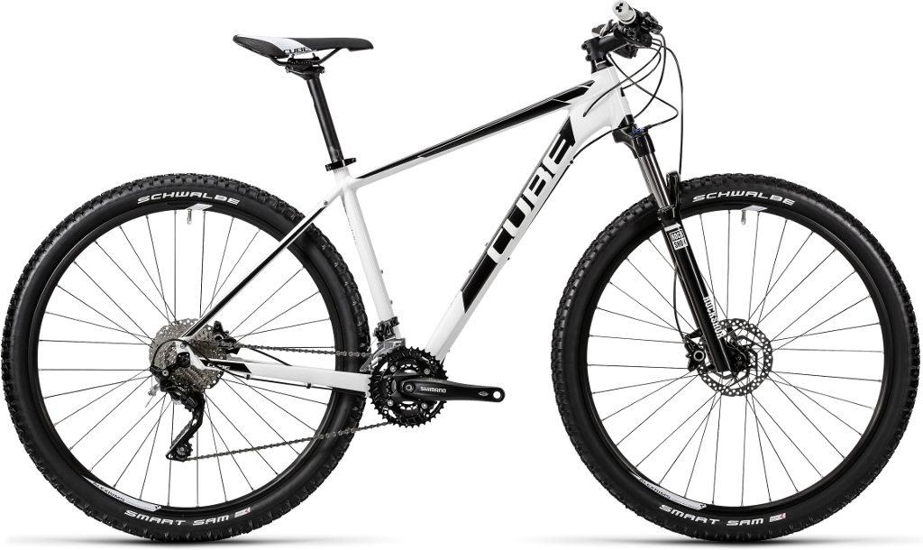22d6ecff6f9 Cube Attention 650b Hardtail Mountain Bike 2016 White/Black £519.20