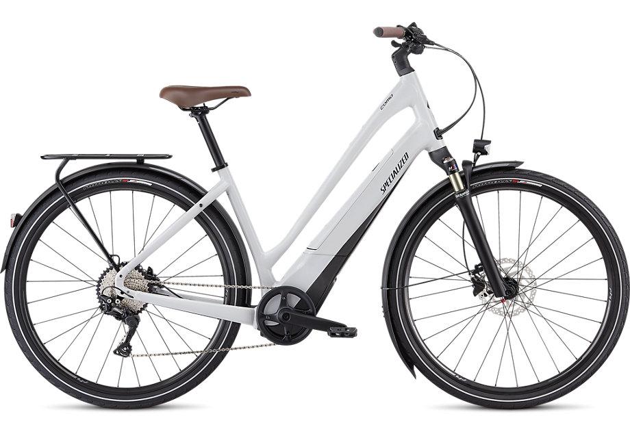 Specialized Turbo Como 4.0 Low Entry Electric Bike 2021 Grey/Blue