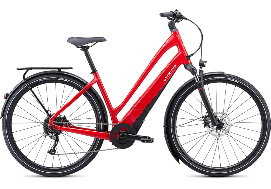 Specialized Turbo Como 3.0 Low Entry Electric Bike 2021 Red/Black