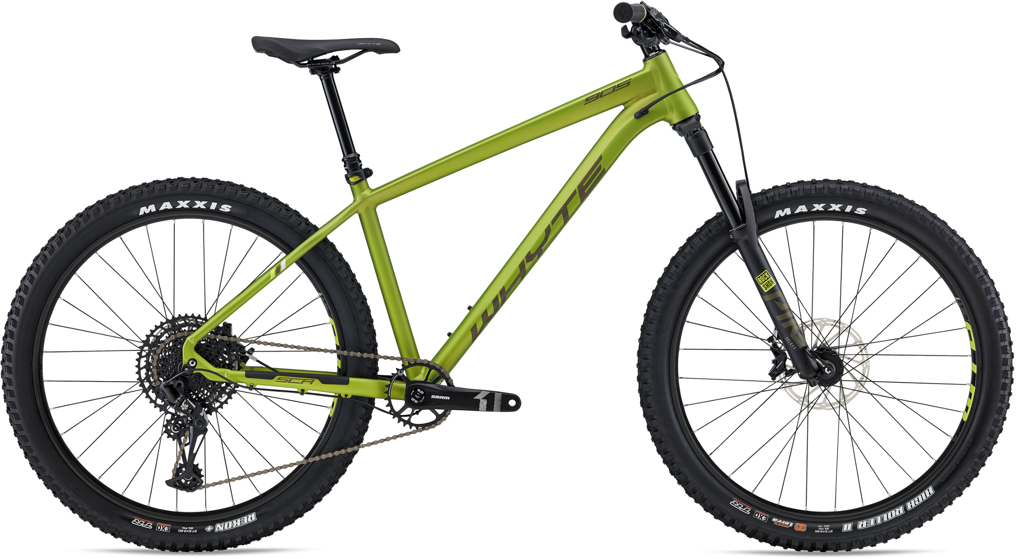 ef139407d85 Whyte 905 27.5 Hardtail Mountain Bike 2017 Orange/Black £1,328.99