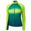 Altura Airstream Womens LS Jersey Yellow/Teal