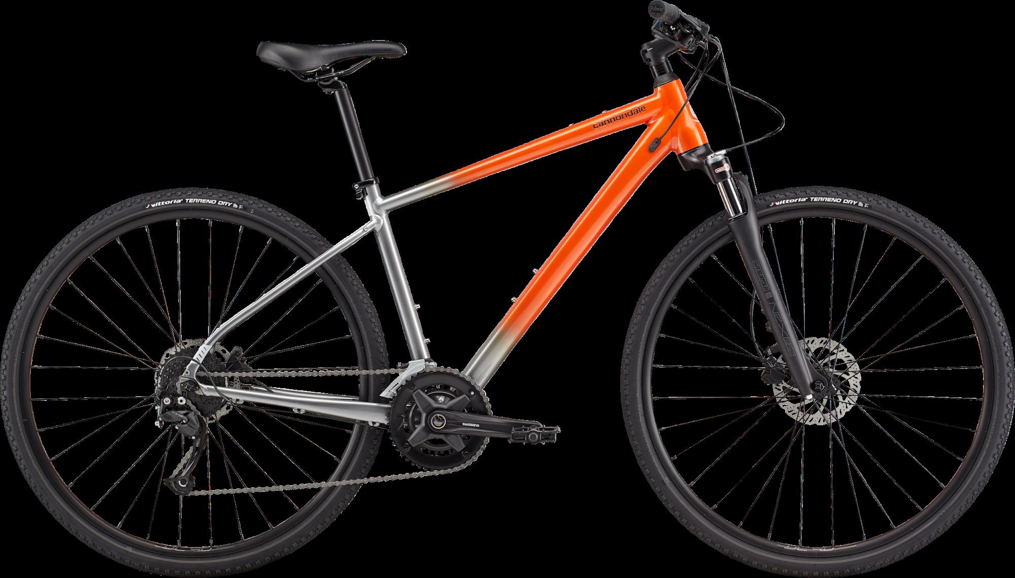 Cannondale Quick CX 2 Hybrid Bike 2021 Saber