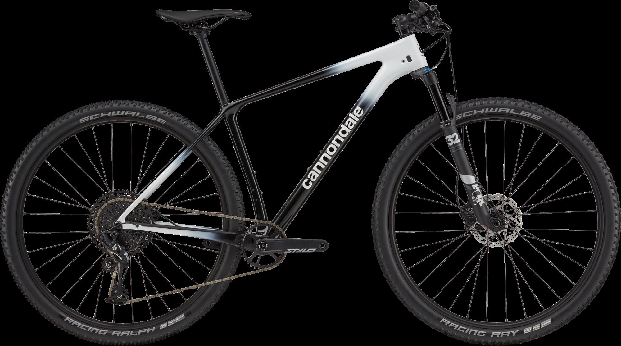 Cannondale FSi Carbon 5 Hardtail Mountain Bike 2021 Cashmere White