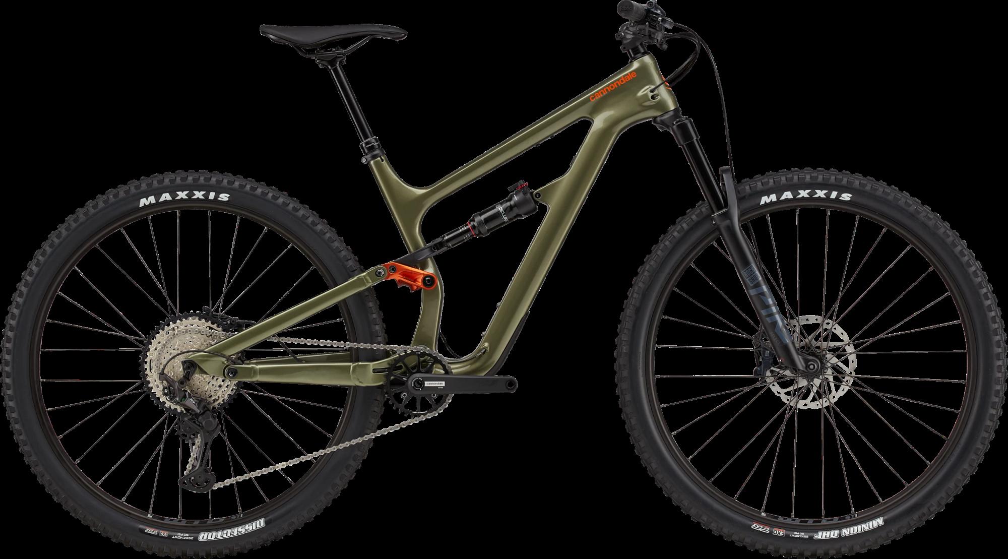 Cannondale Habit Carbon 2 Shimano 12spd Mountain Bike 2021 Mantis