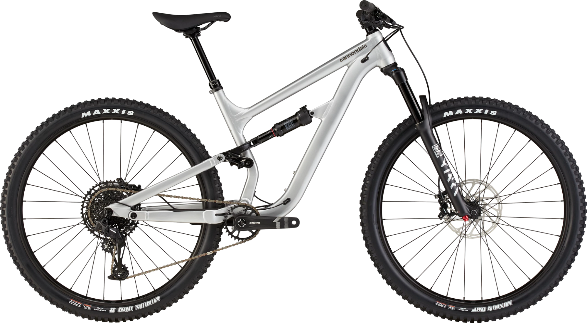 Cannondale Habit Waves AL Sram SX Eagle Mountain Bike 2021 Raw Silver