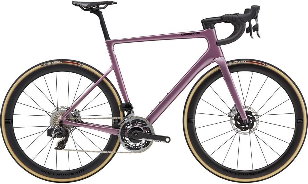 Cannondale SuperSix EVO Hi Mod Disc Red AXS Road Bike 2021 Lavender