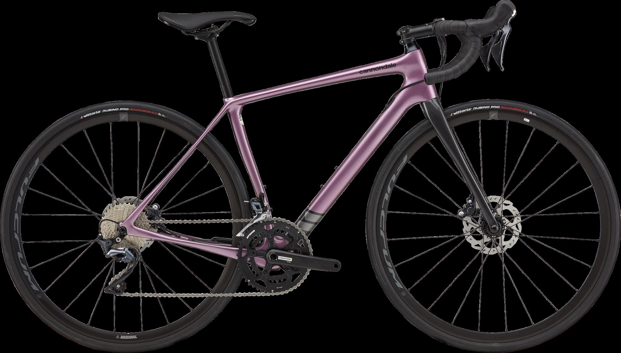 Cannondale Synapse Ultegra Disc Womens Carbon Road Bike 2021 Lavender