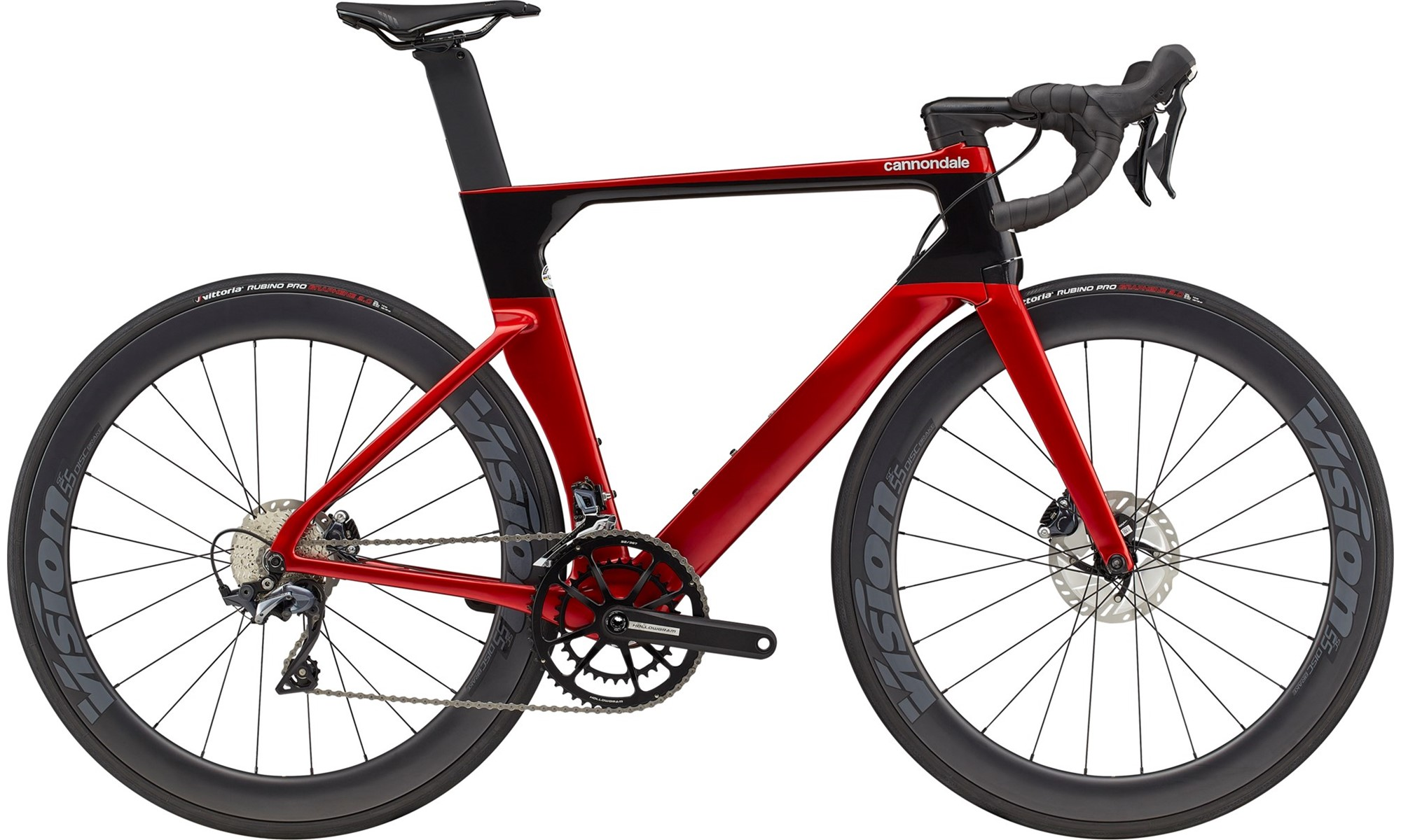 Cannondale SystemSix Carbon Ultegra Disc Road Bike 2021 Candy Red