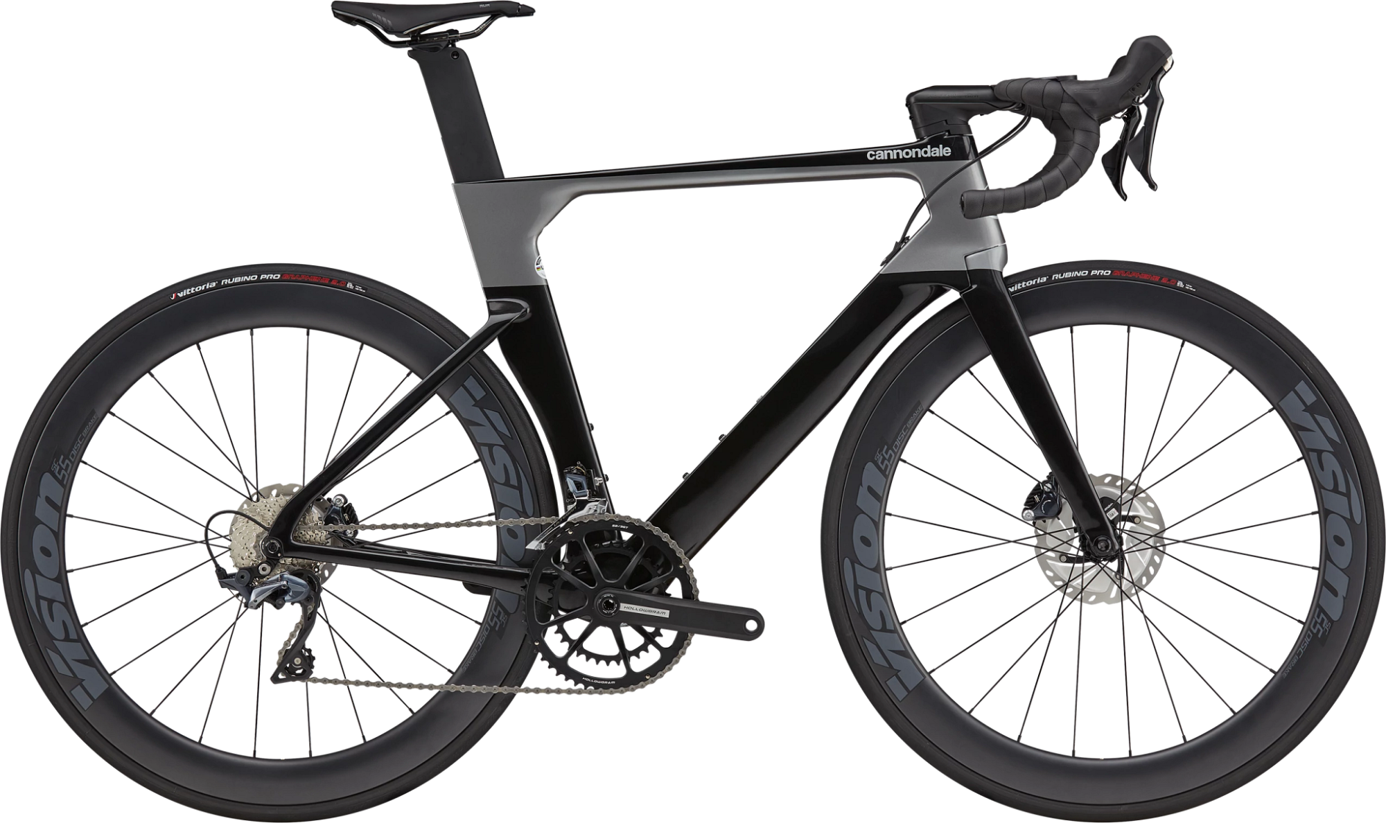 Cannondale SystemSix Carbon Ultegra Disc Road Bike 2021 Black Pearl