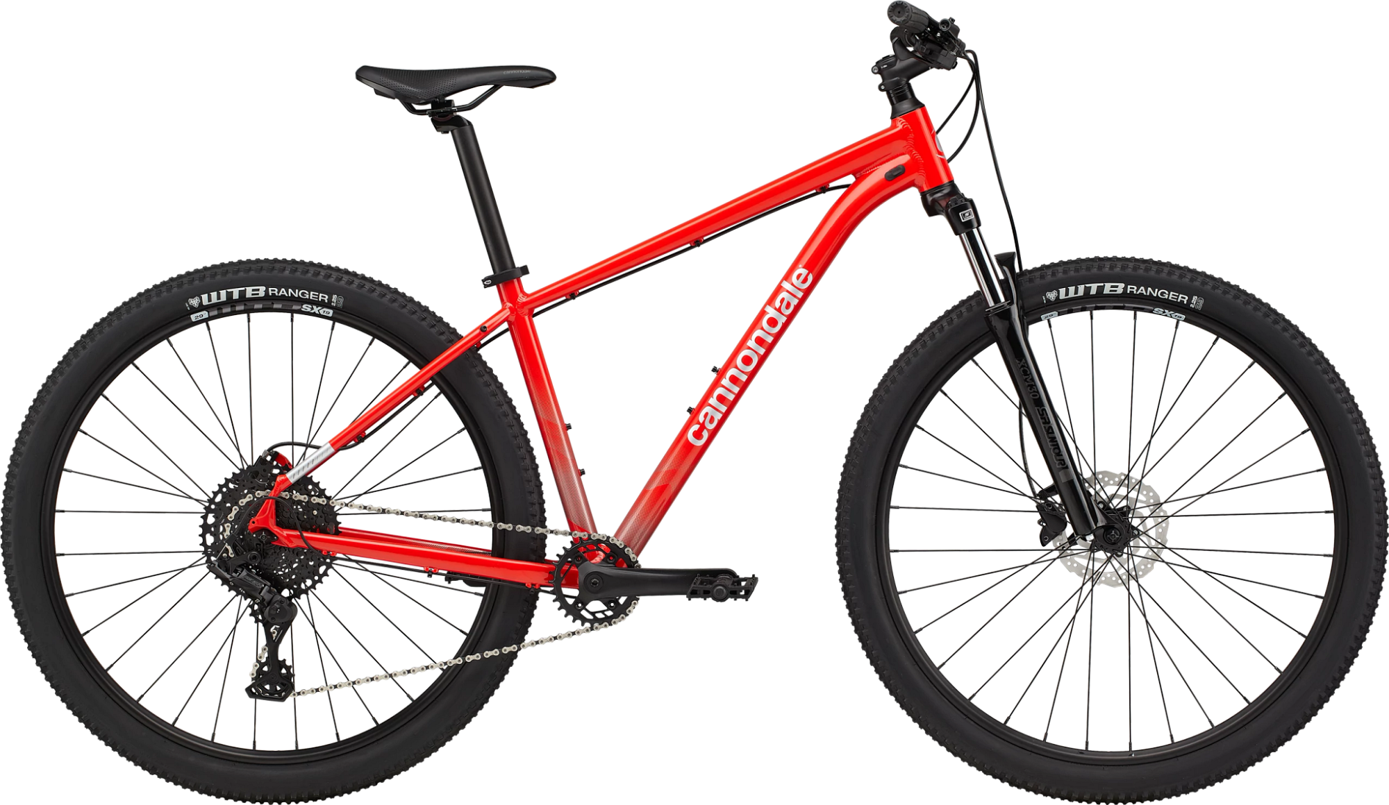 Cannondale Trail 5 Hardtail 27.5 Mountain Bike 2021 Rally Red