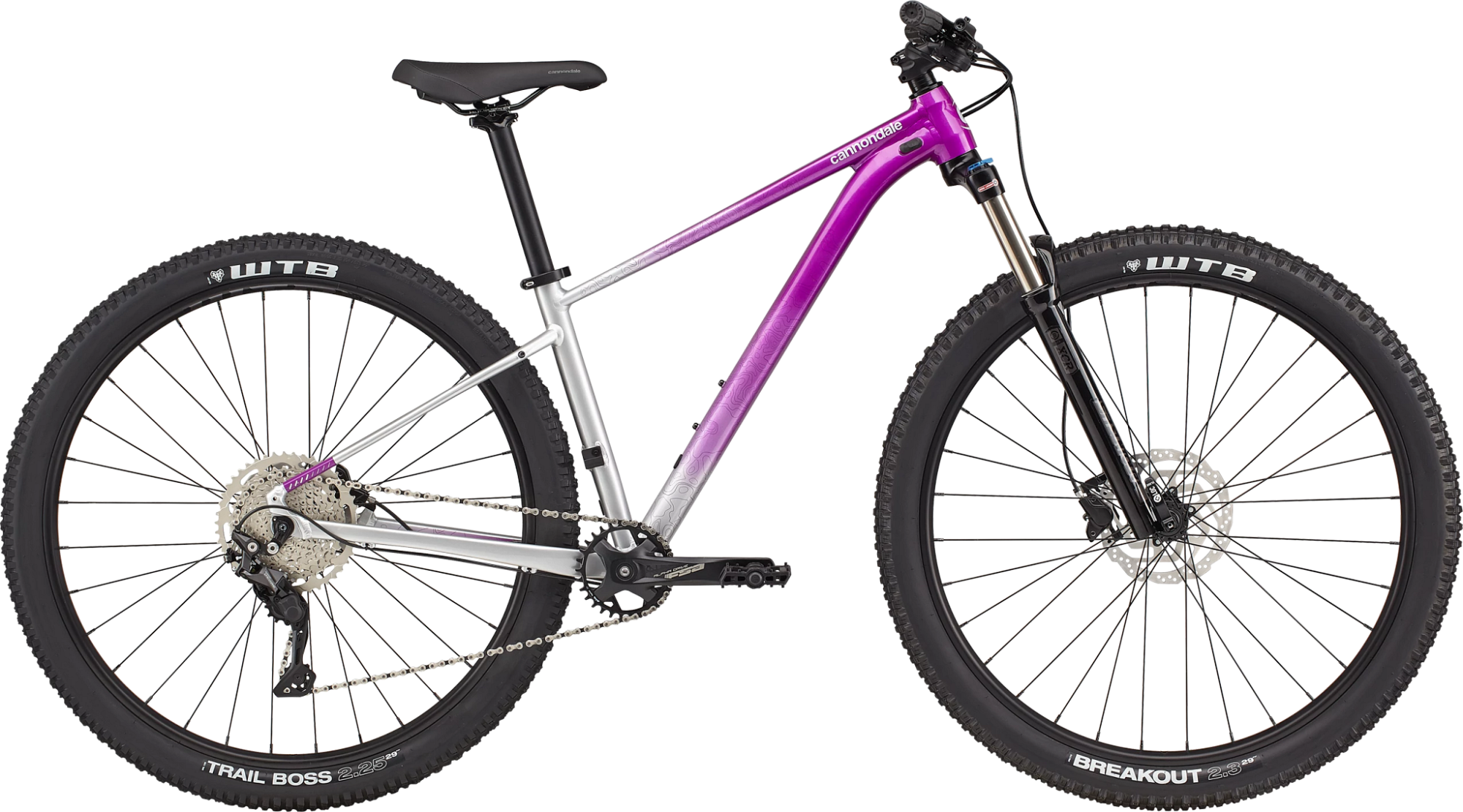 Cannondale Trail SE 4 Womens Hardtail Mountain Bike 2021 Purple