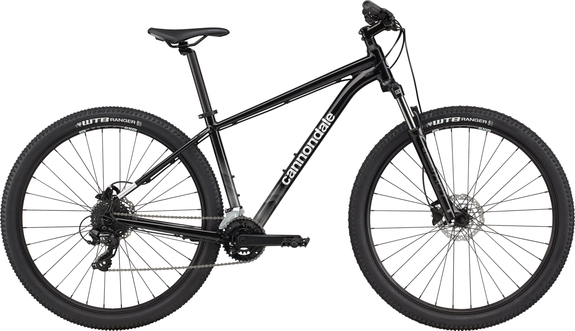 Cannondale Trail 7 Hardtail Mountain Bike 2021 Black