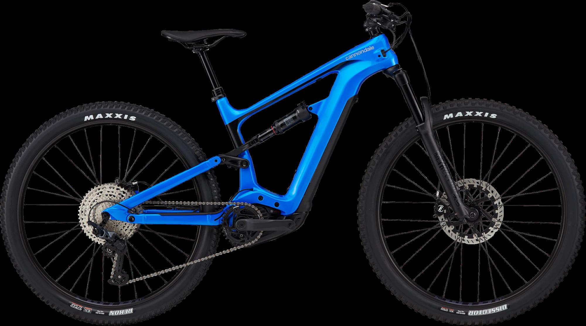 Cannondale Habit Neo 3 Electric Mountain Bike 2021 Electric Blue