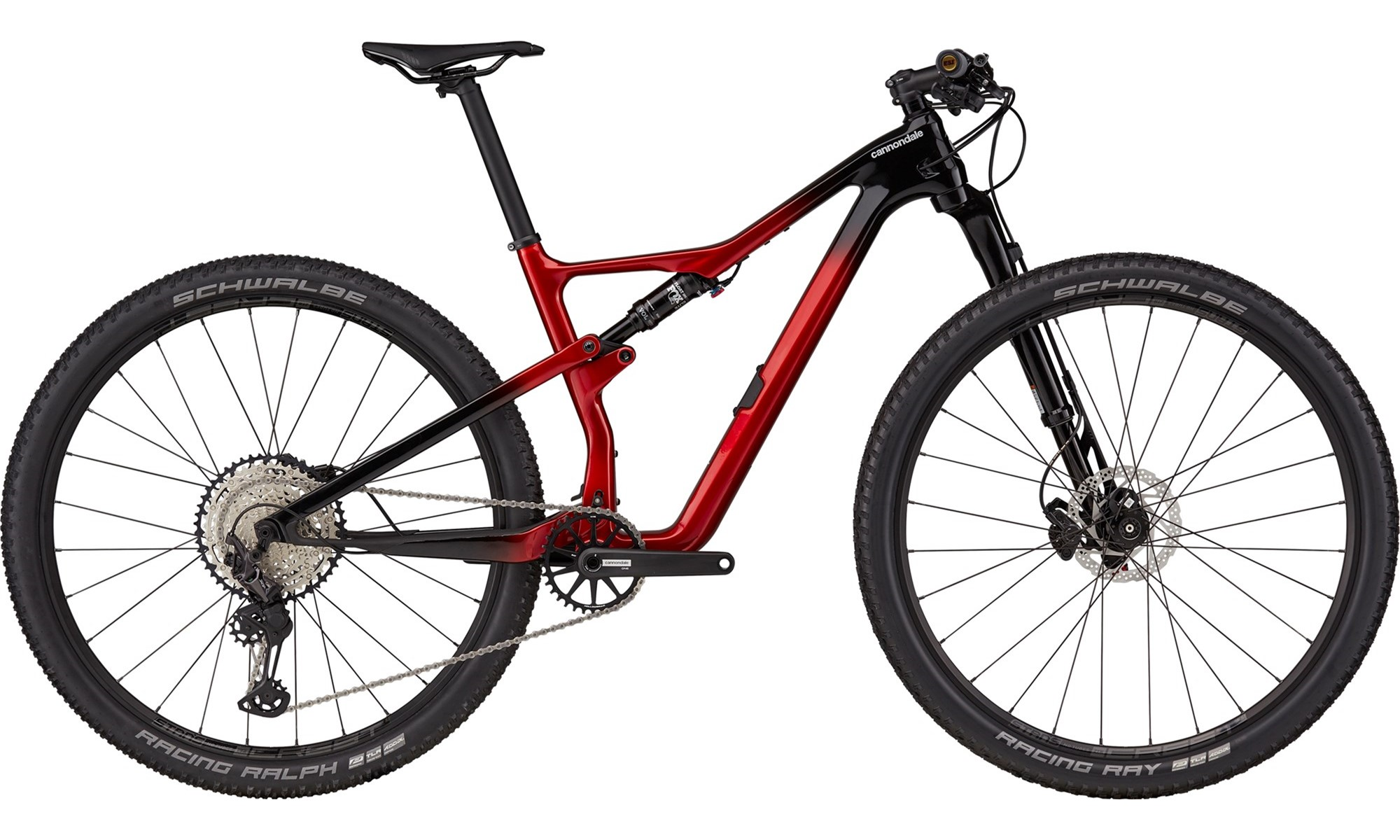 Cannondale Scalpel Carbon 3 29er Mountain Bike 2021 Candy Red