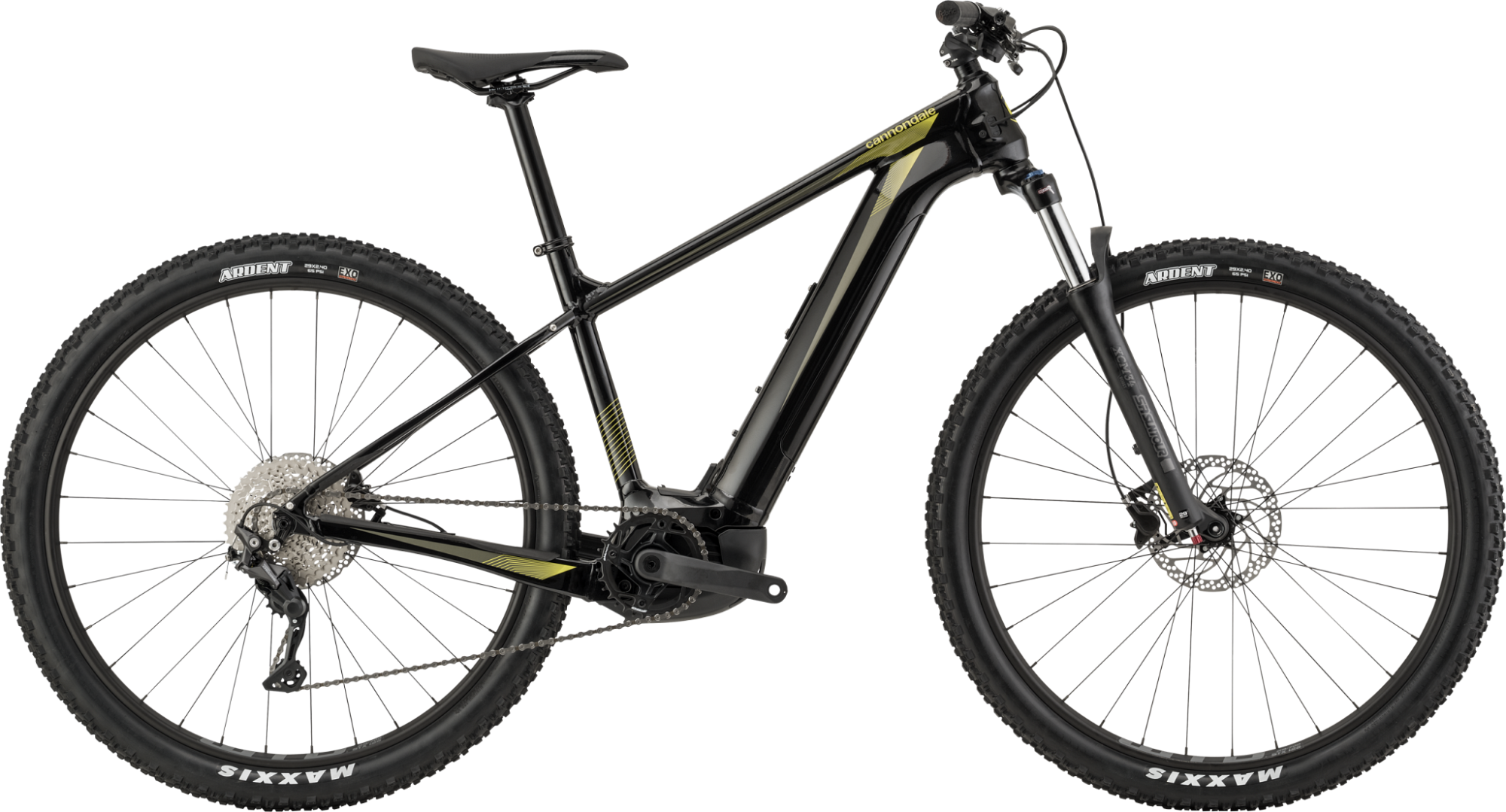 Image of Cannondale Trail Neo 3 Electric Mountain Bike 2021 Black