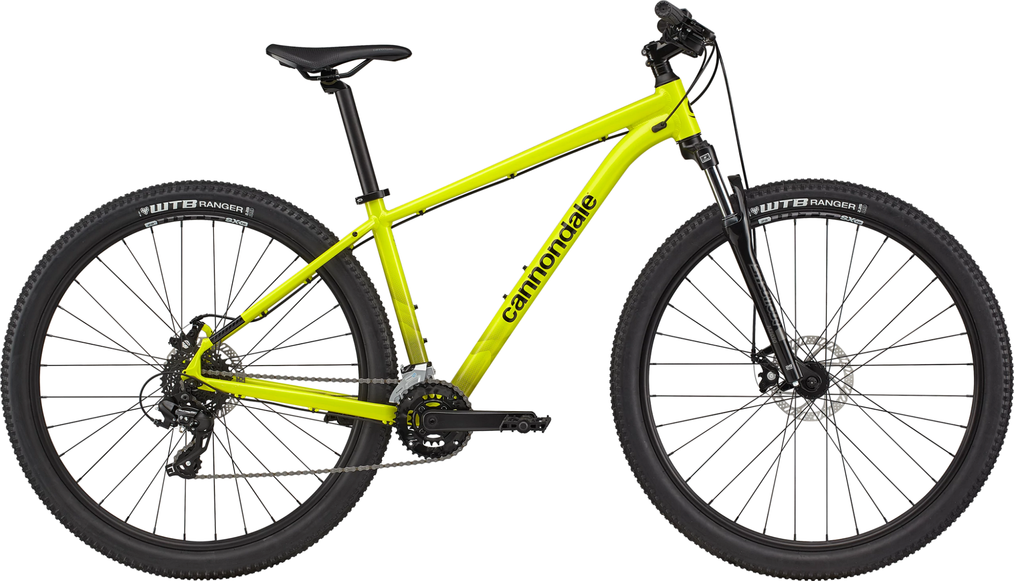Cannondale Trail 8 Hardtail Mountain Bike 2021 Highlighter Yellow