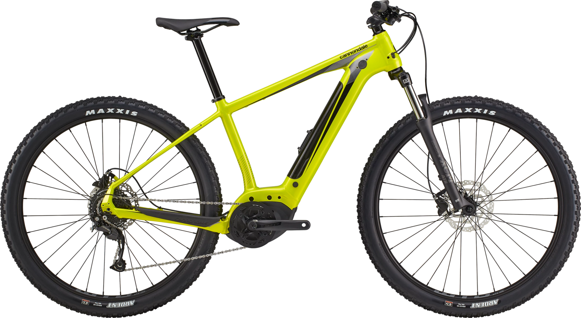 Cannondale Trail Neo 4 Electric Mountain Bike 2021 Highlighter