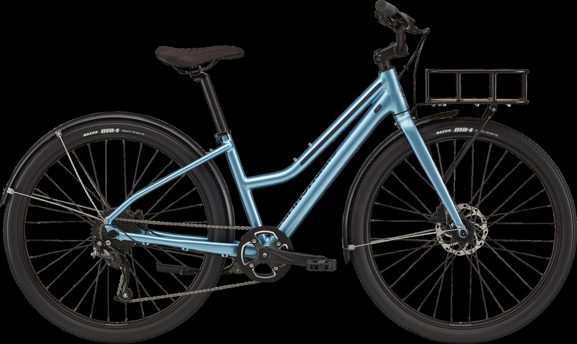 Cannondale Treadwell EQ 650b Remixte Hybrid Bike 2021 Alpine Blue