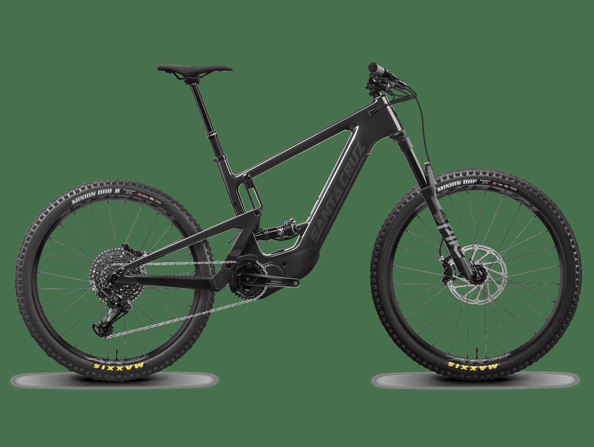 Image of Santa Cruz Heckler Mx S Electric Mountain Bike 2022 Carbon