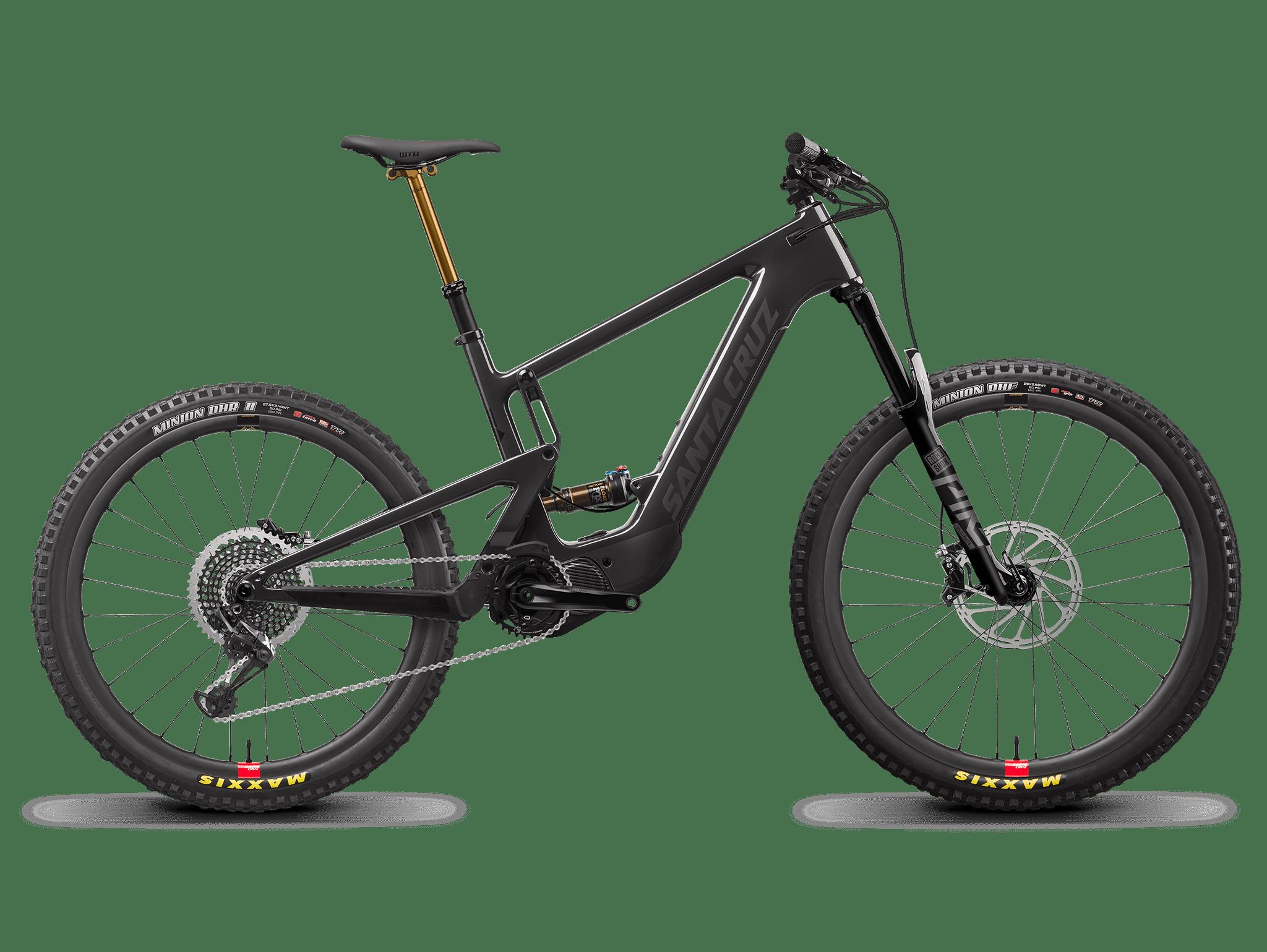 Image of Santa Cruz Heckler MX X01 Electric Mountain Bike 2022 Carbon