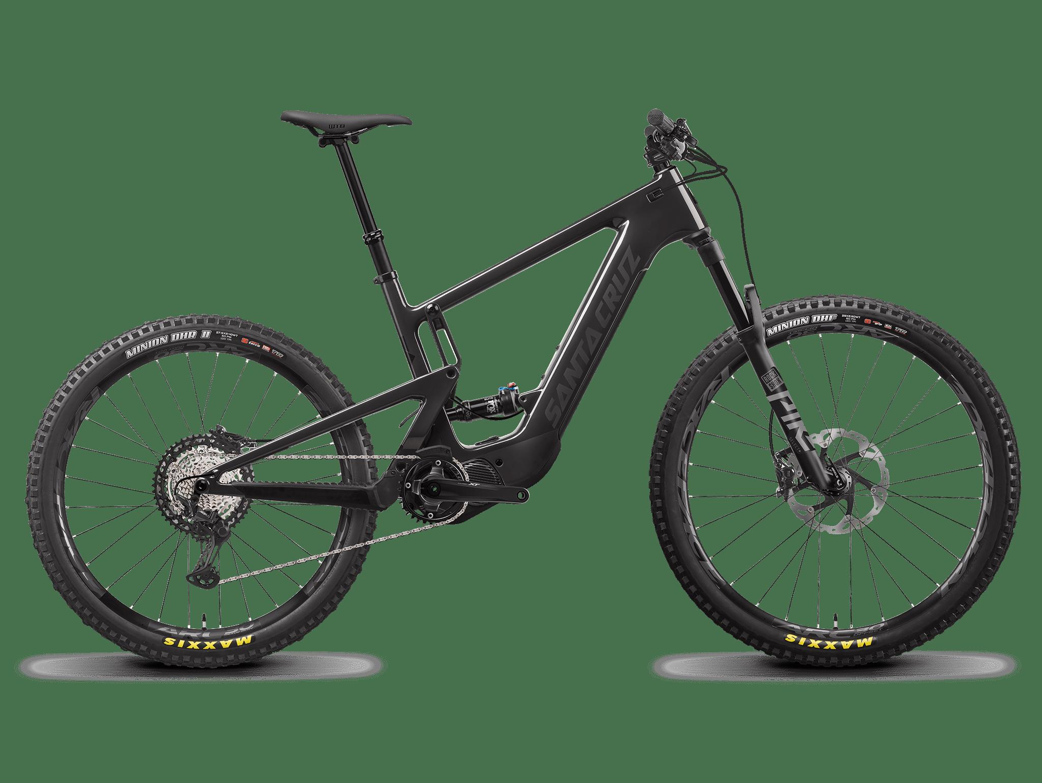 Image of Santa Cruz Heckler MX XT Electric Mountain Bike 2022 Carbon