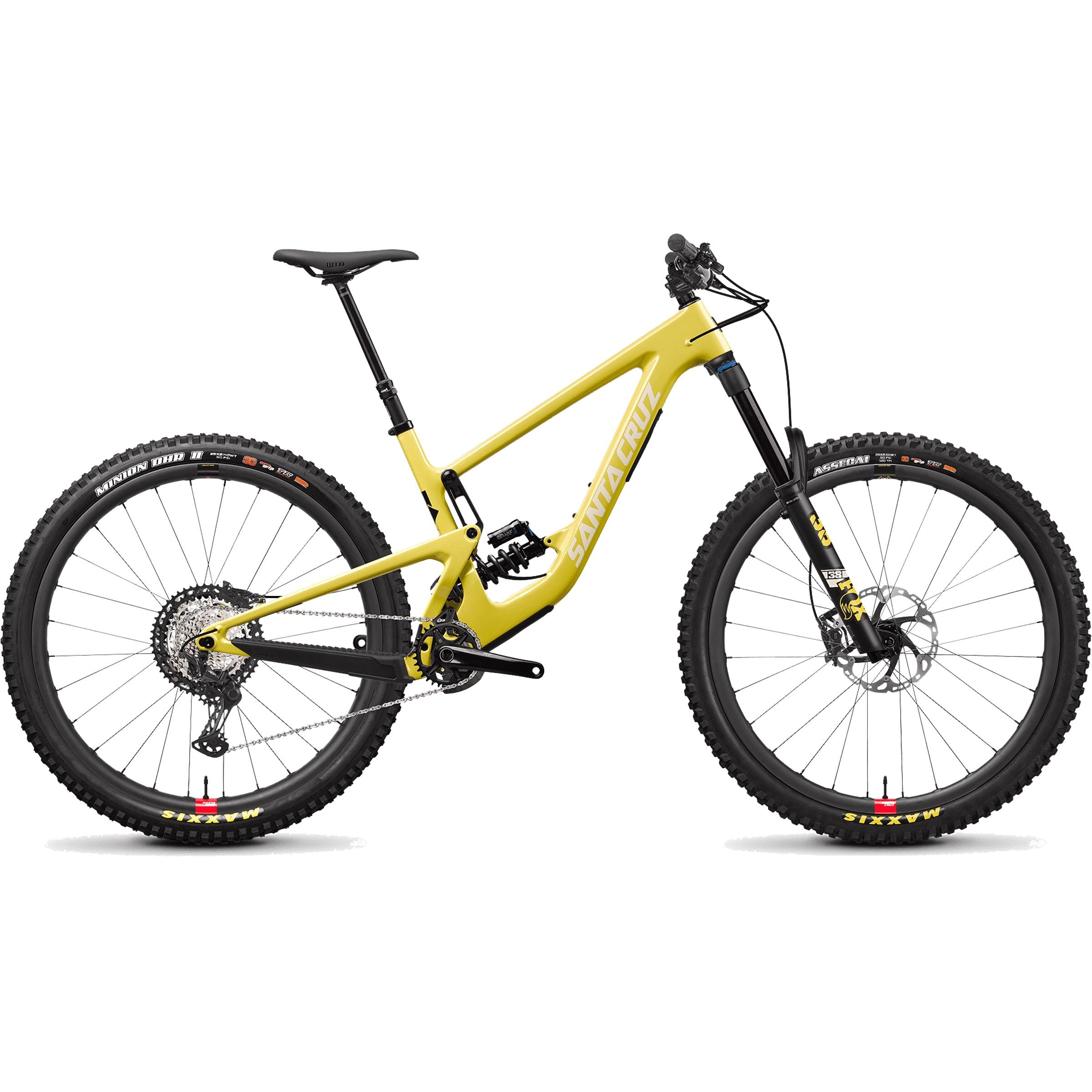 Image of Santa cruz Megatower C XT Coil Reserve 29er Mountain Bike 2022 Yellow