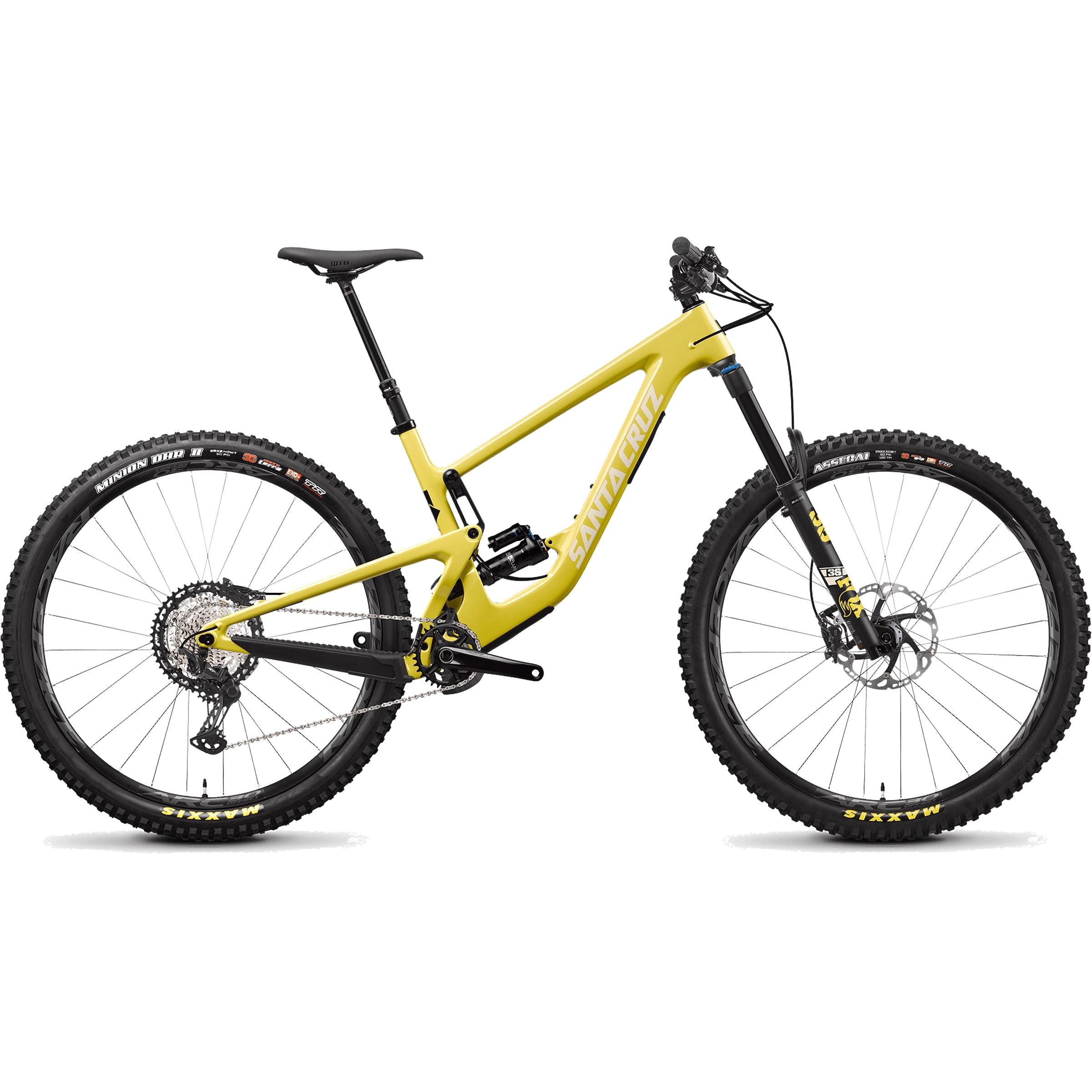 Image of Santa cruz Megatower C XT 29er Mountain Bike 2022 Amarillo Yellow