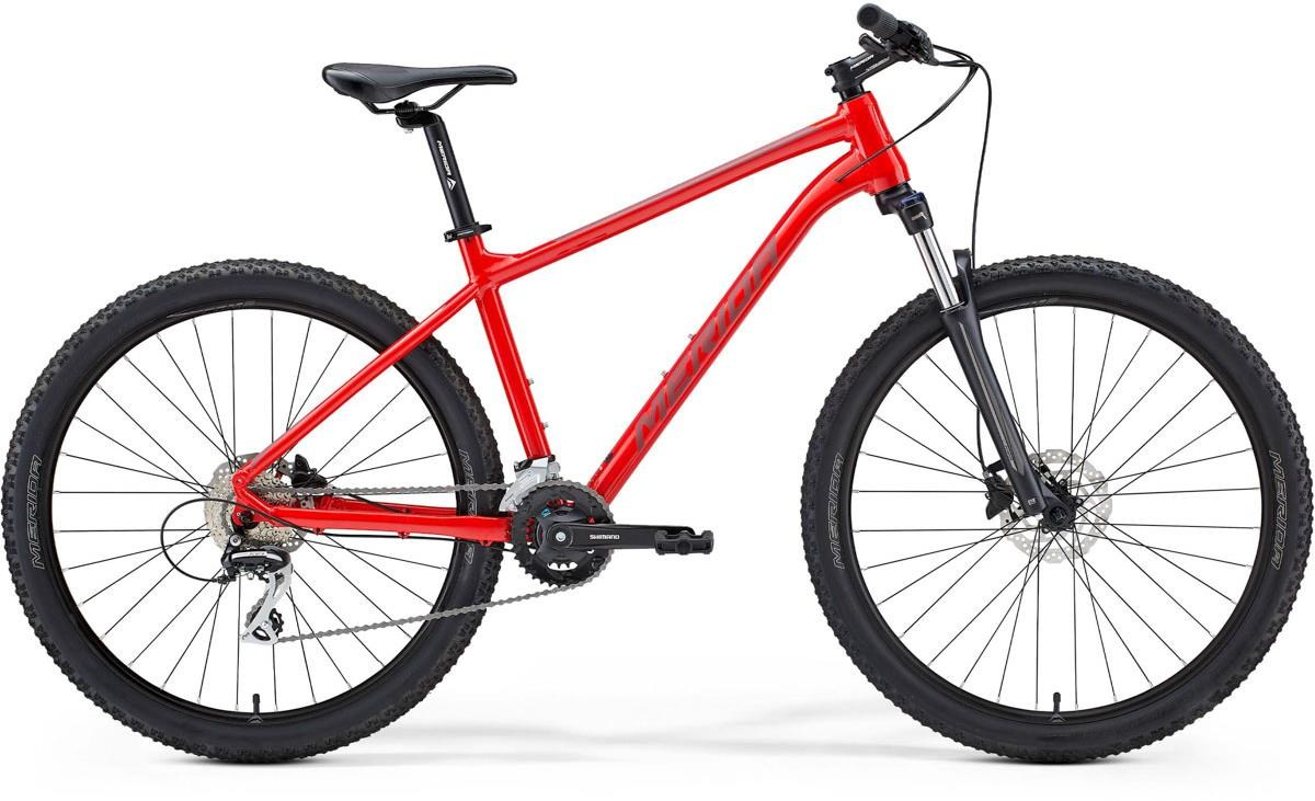 Merida Big Seven 20 27.5 Mountain Bike 2021 Glossy Red