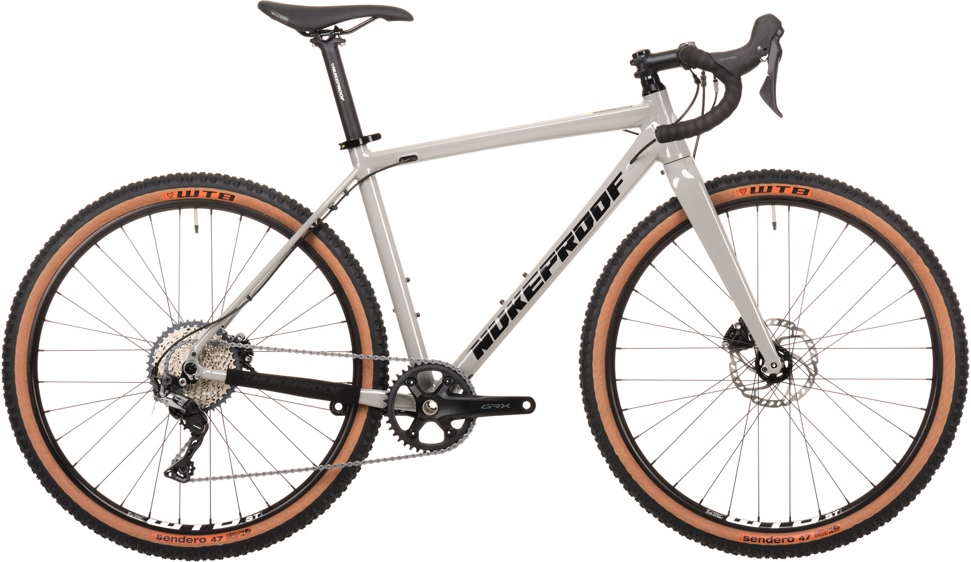 Nukeproof Digger 275 Grx 11 Speed Comp Adventure/gravel Bike 2021 Grey