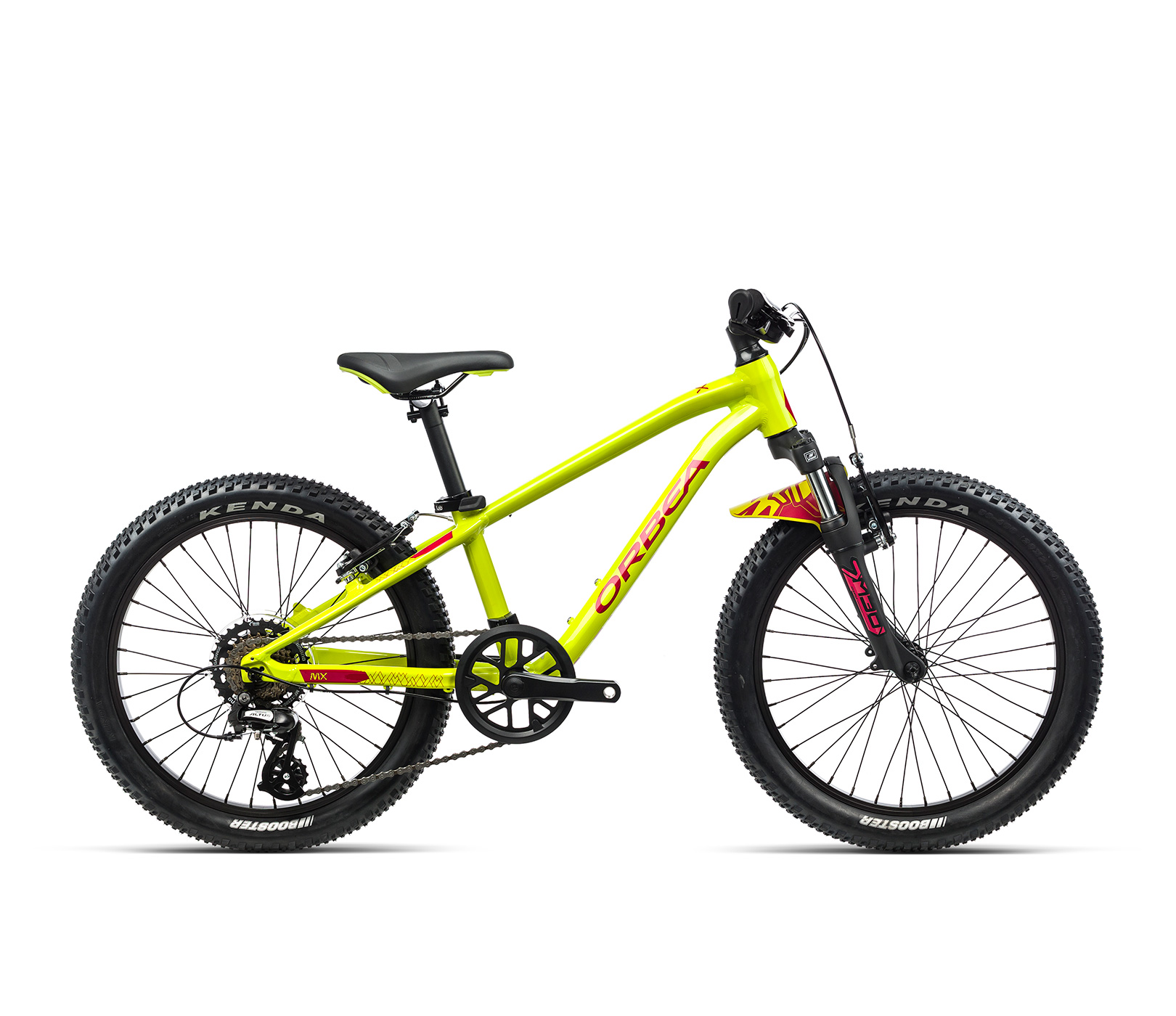 Orbea MX20 XC 20Inch Wheel Kids Mountain Bike 2021 Lime/Watermelon