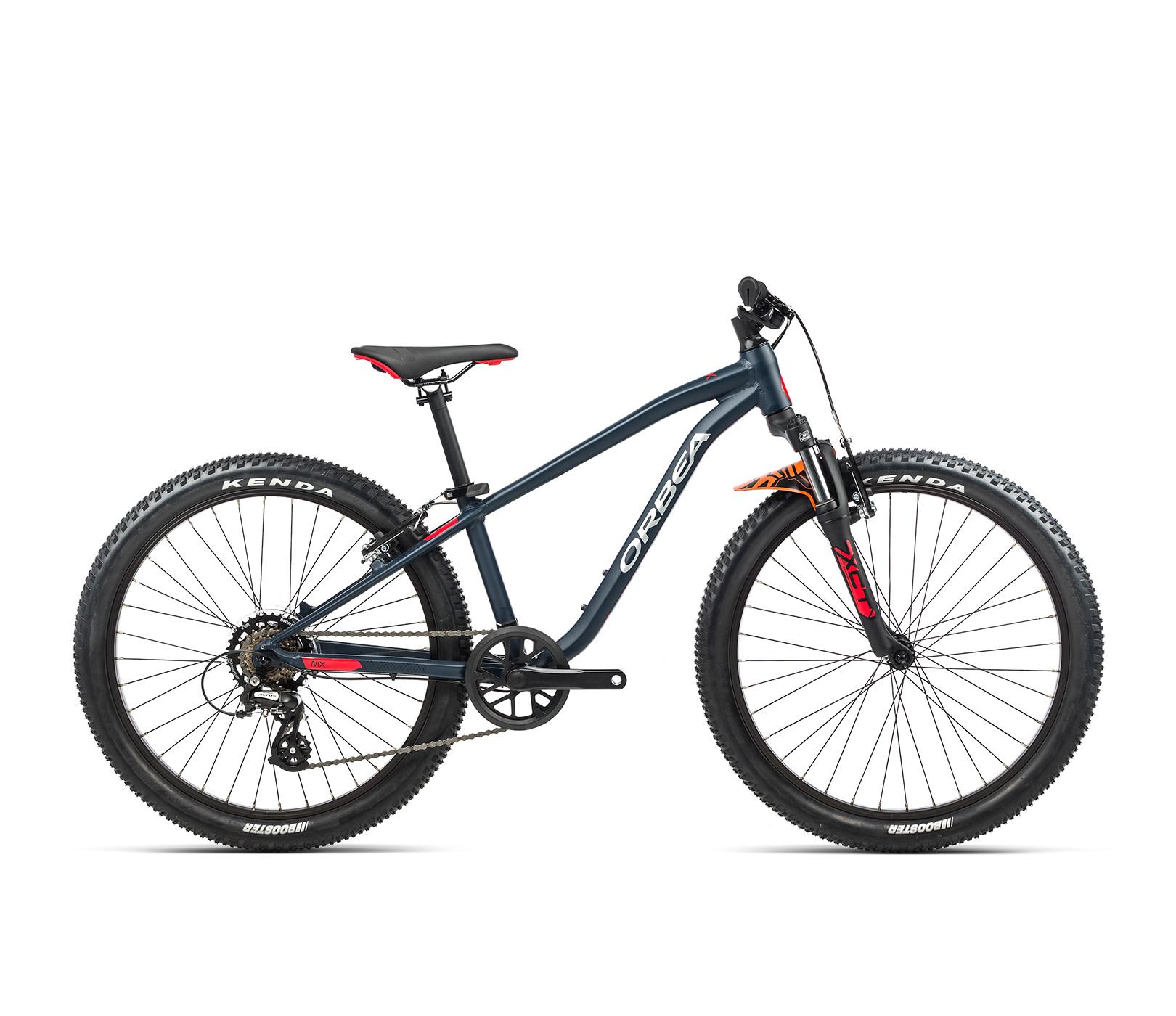 Orbea MX24 XC 24 Inch Kids Mountain Bike 2021 Bondi Blue/Bright red