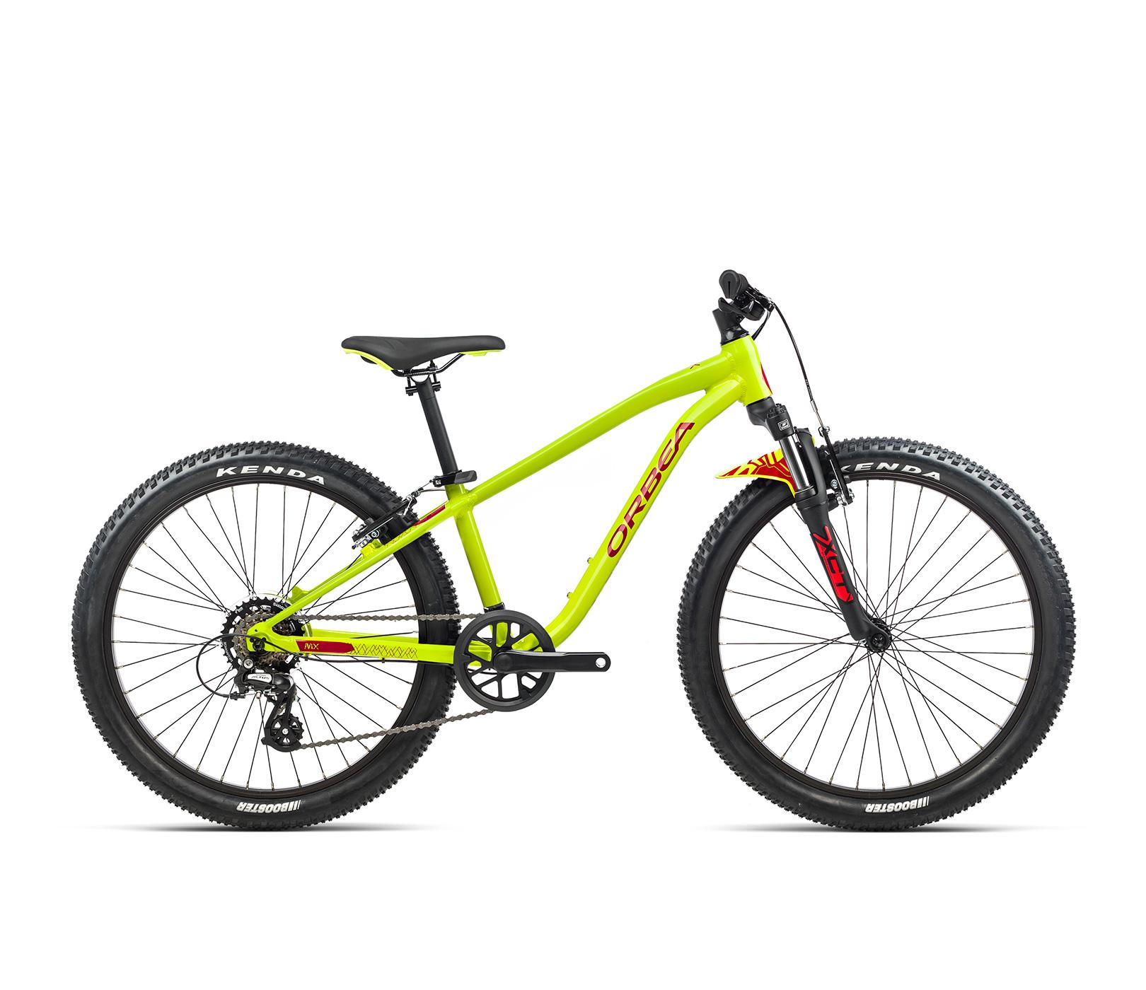 Orbea MX24 XC 24 Inch Kids Mountain Bike 2021 Lime/Watermelon