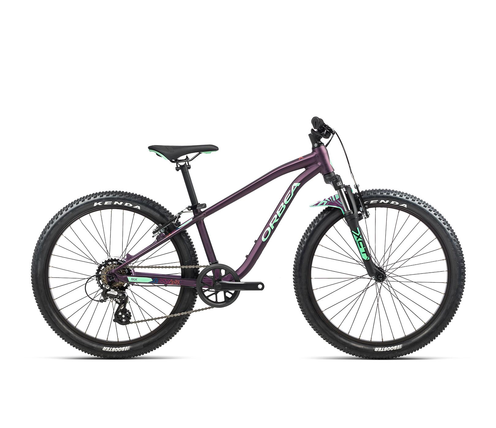 Orbea MX24 XC 24Inch Wheel Kids Mountain Bike 2021 Matte Purple/Mint