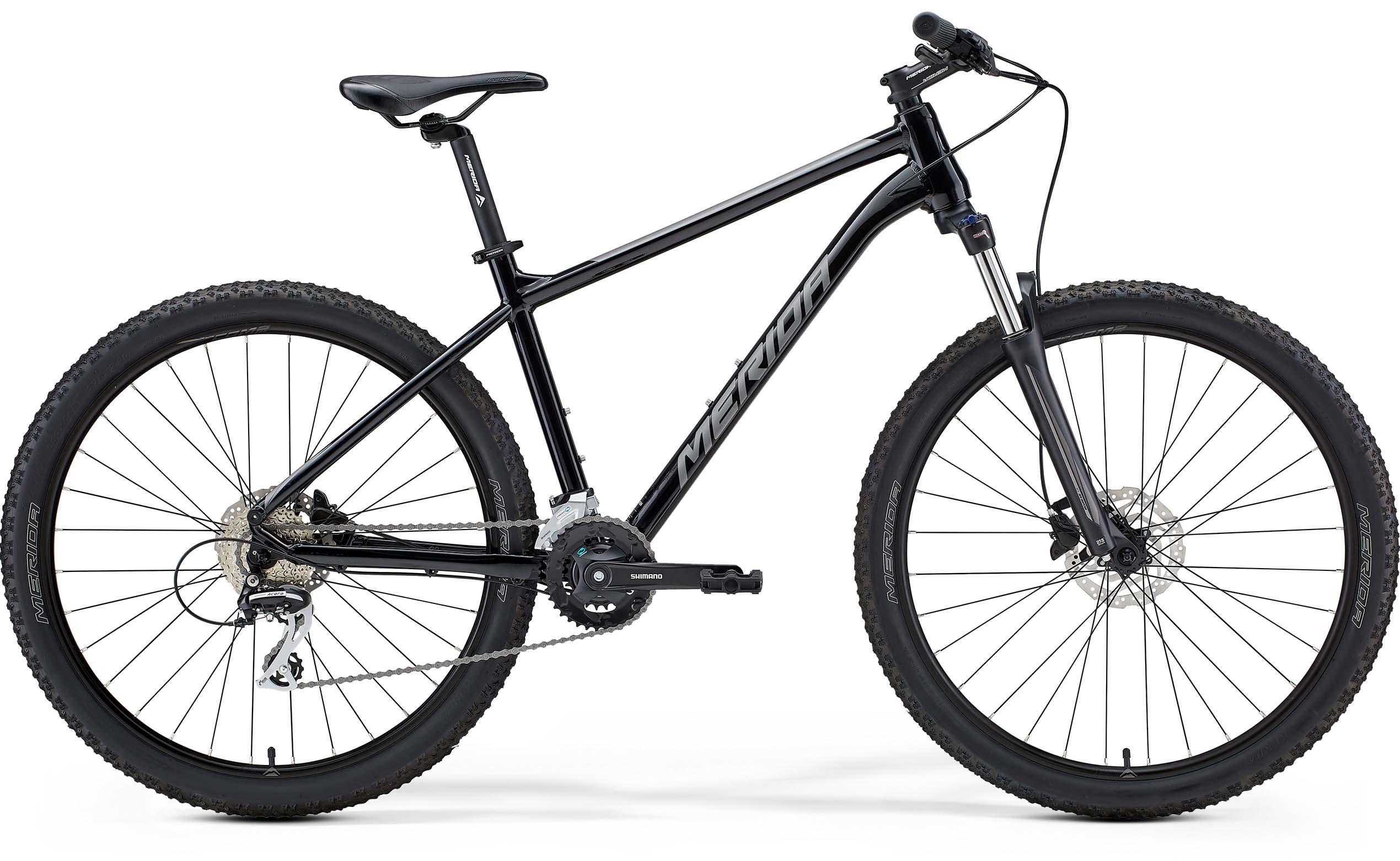 Merida Big Seven 20 27.5 Mountain Bike 2021 Black/Silver