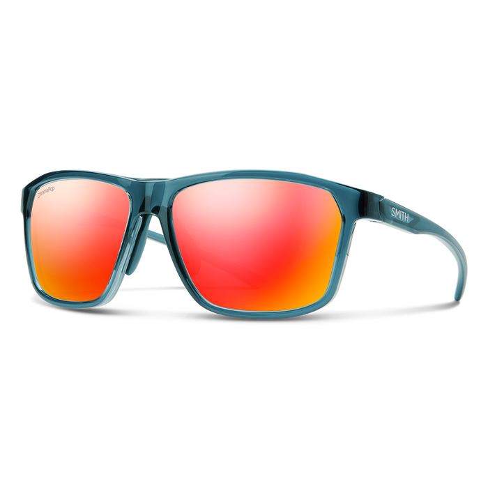 Tifosi Swank Single Lens Sunglasses Icicle Red/smoke Red