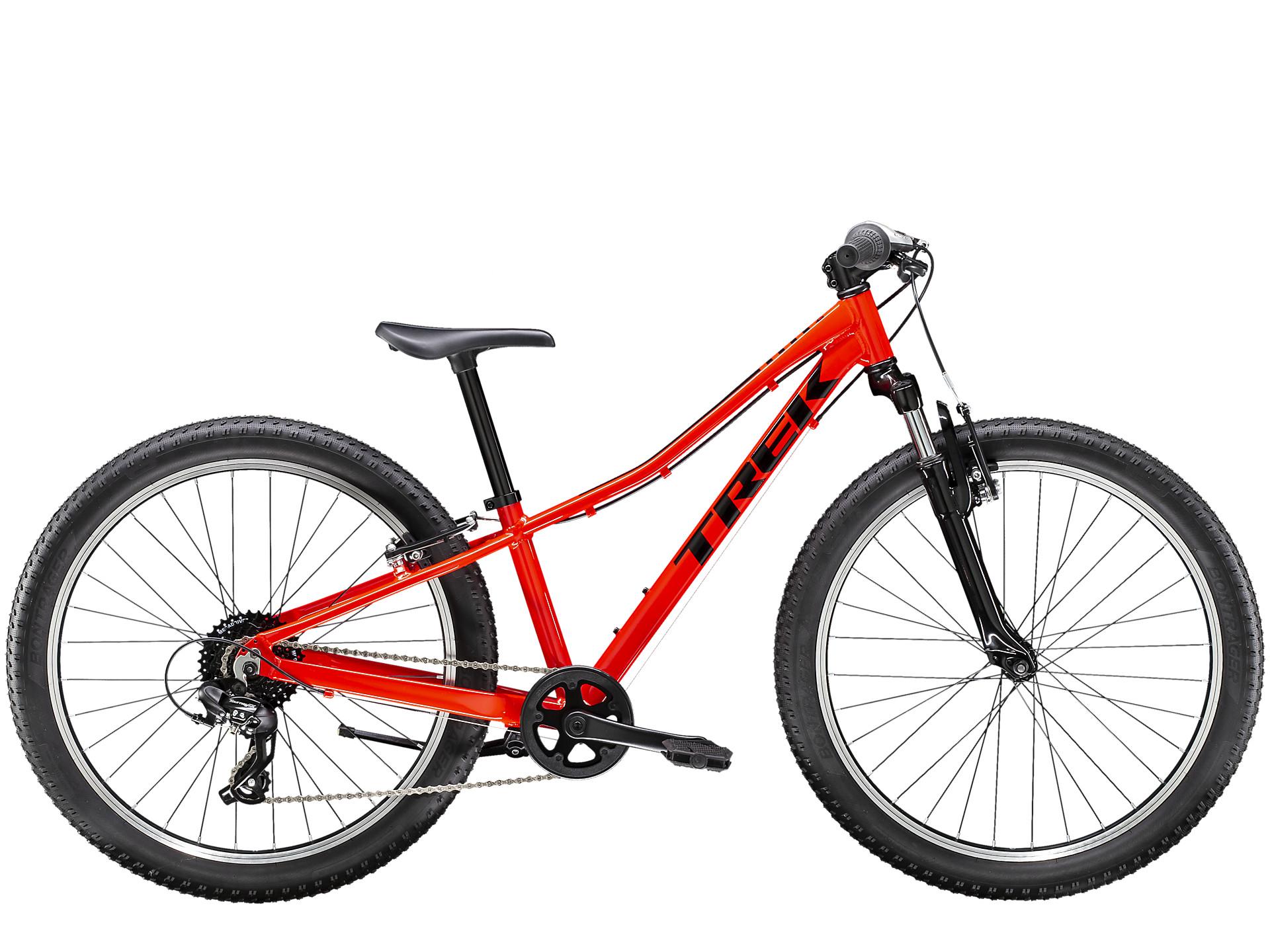 Trek Precaliber 24 8 speed Suspension Boys Kids Bike 2021 Red