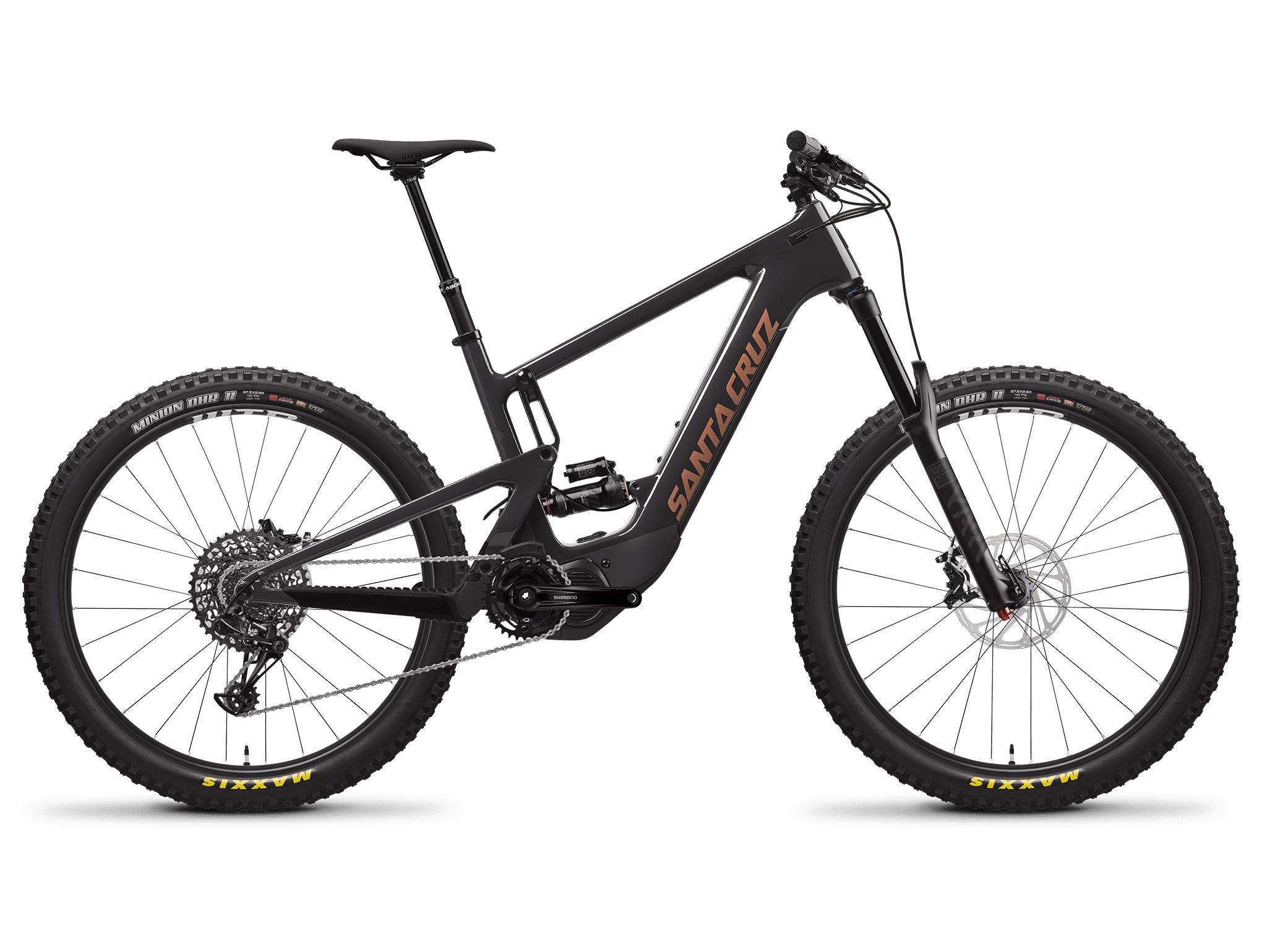 Image of Santa Cruz Heckler MX R Electric Mountain Bike 2022 Carbon