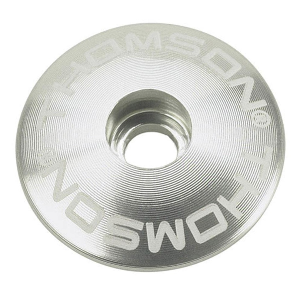 Thomson Stem Cap 1 1/8 Silver