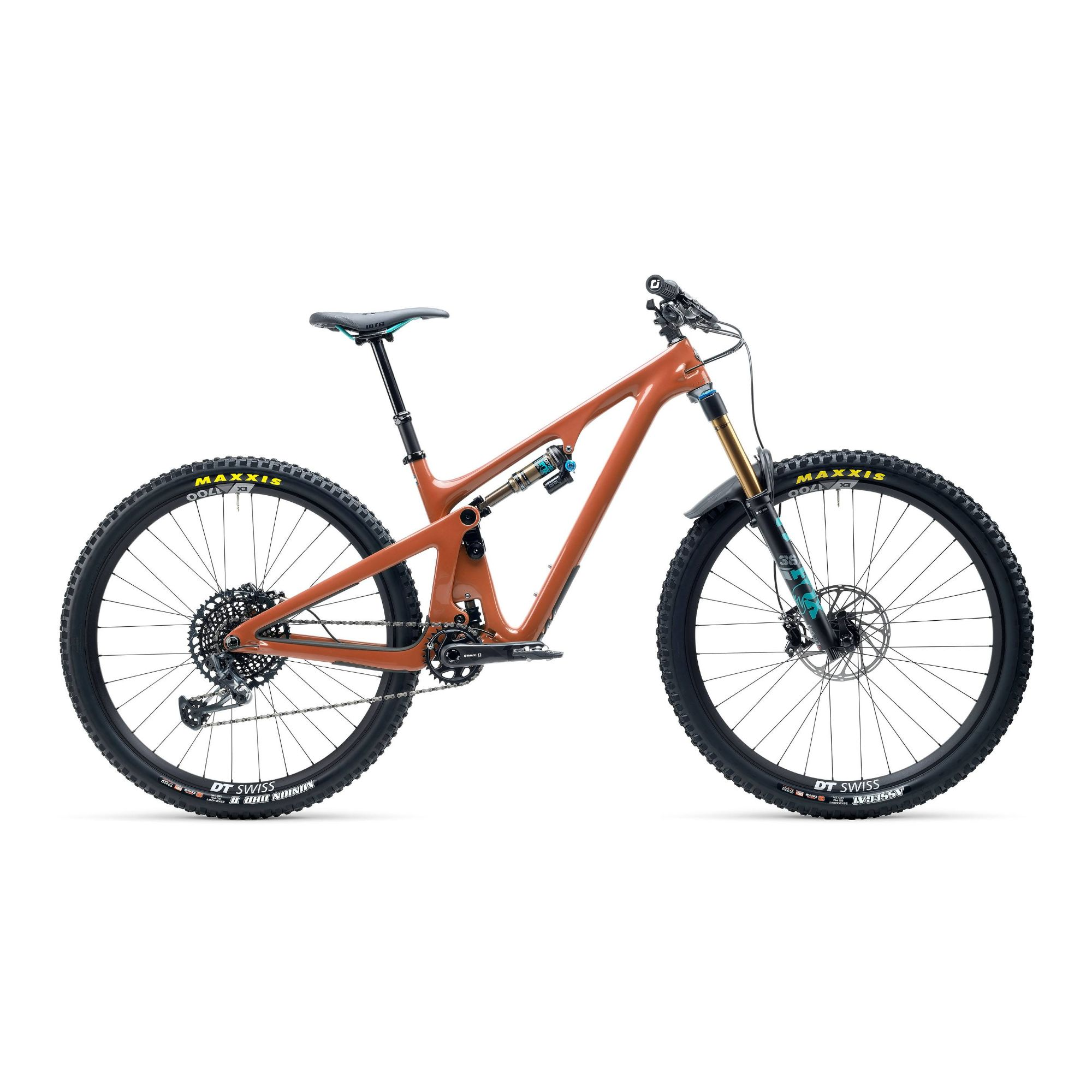 Yeti SB130 TSeries XO1 Lunchride 29er Carbon Mountain Bike 2021 Brick