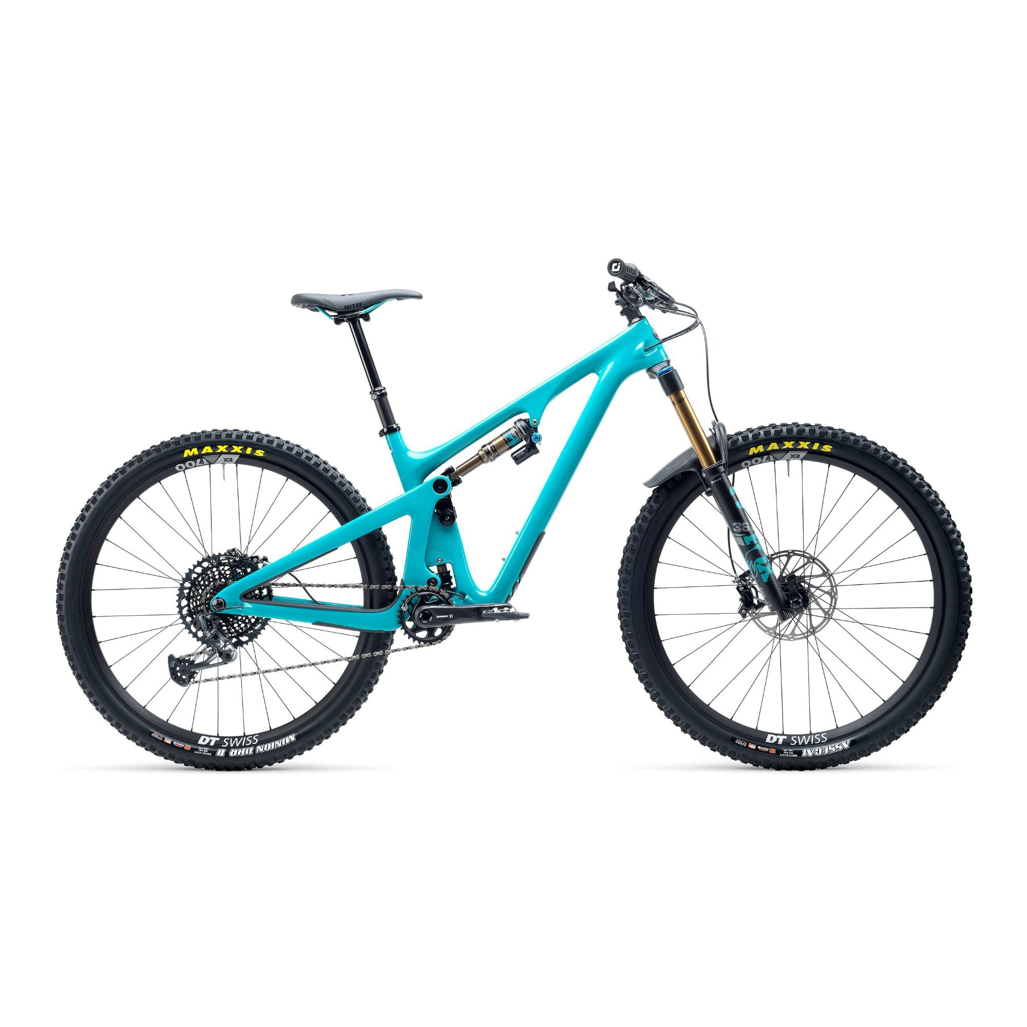 Yeti SB130 TSeries XO1 Lunchride 29er Carbon Mountain Bike 2021 Turq