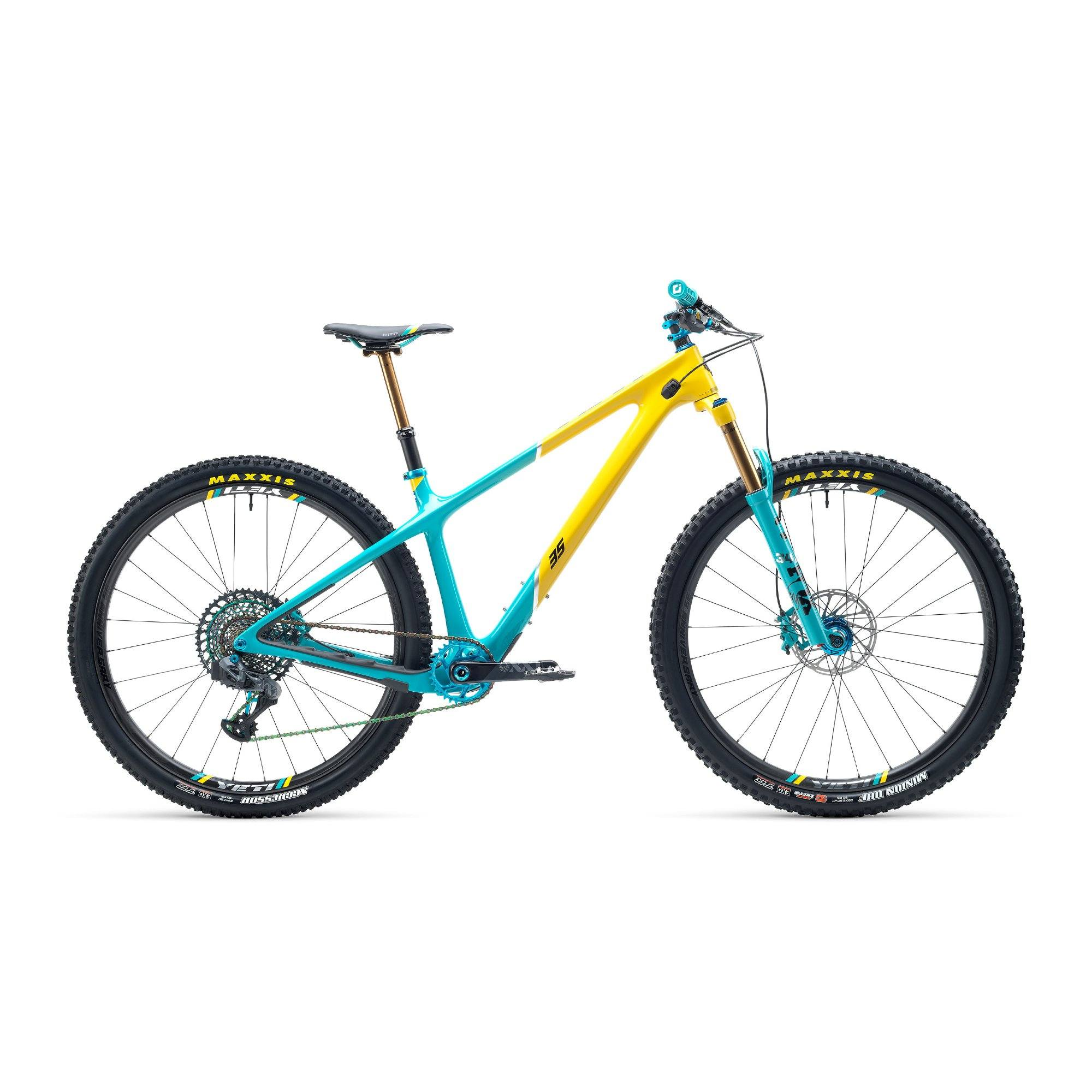 Yeti ARC Anniversary Edition 29er XX1 Eagle AXS Mountain Bike Turq/Yel