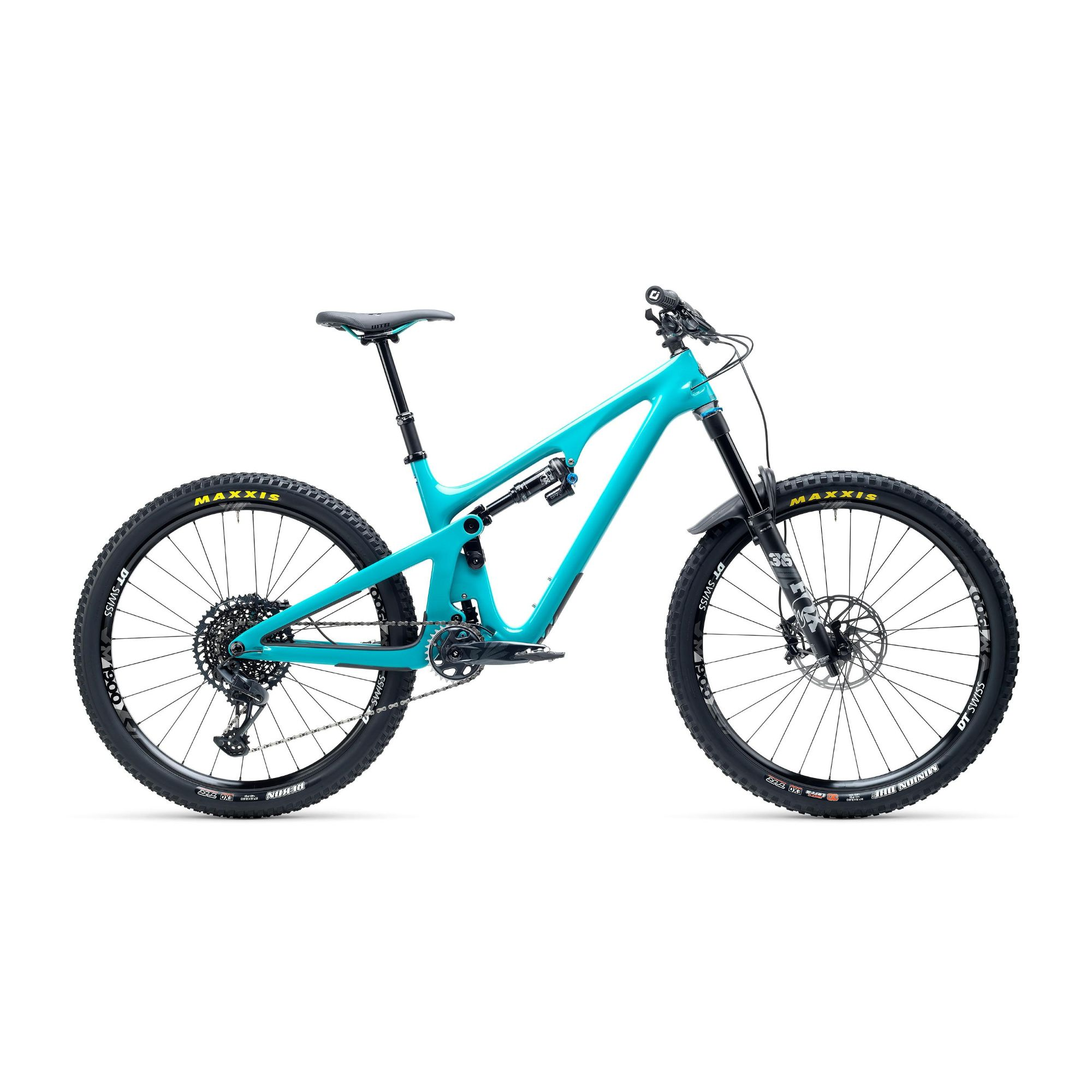 Yeti SB140 CSeries C2 GX Eagle 27.5 12spd Carbon Mountain Bike Turq