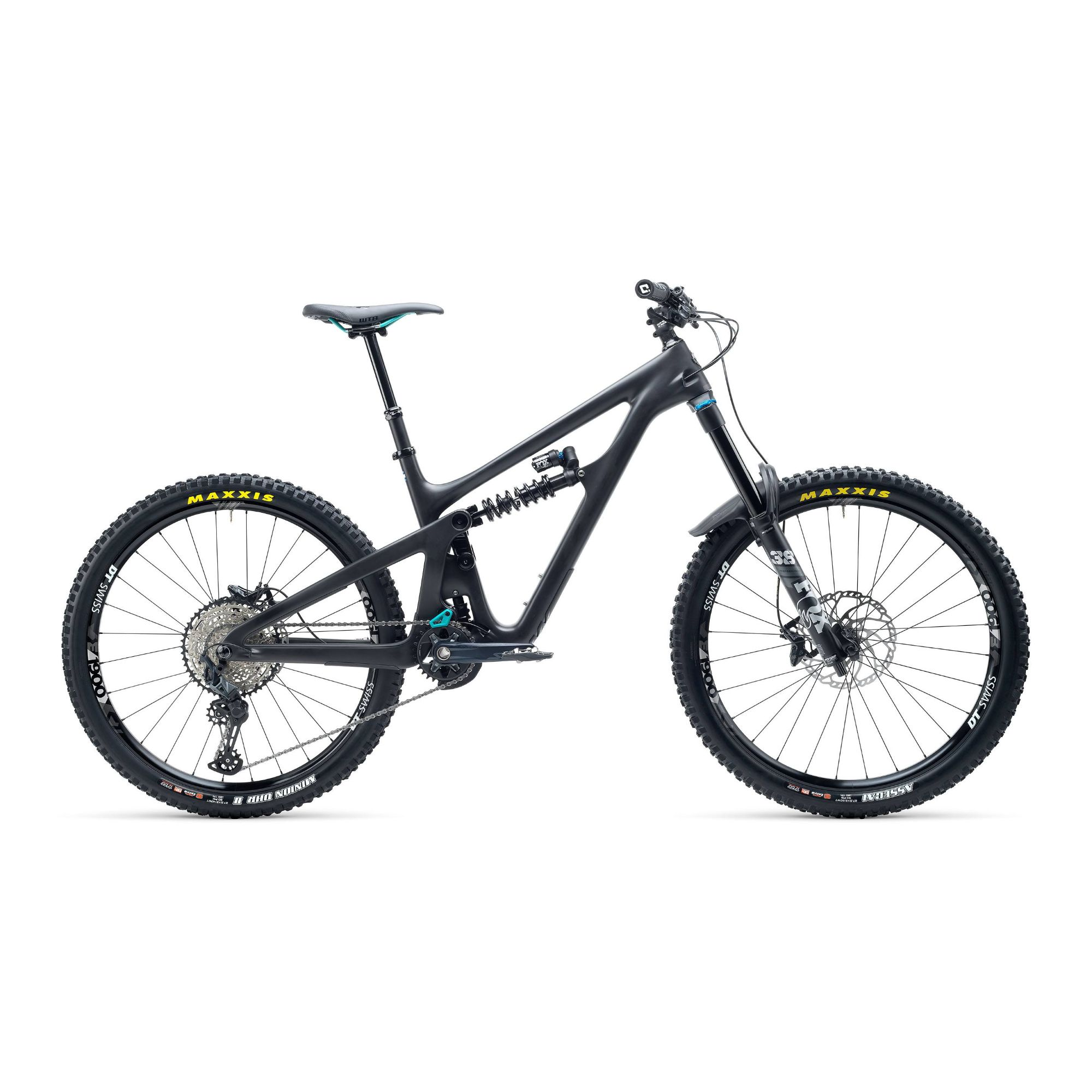 Yeti SB165 C Series C1 27.5 SLX Carbon Mountain Bike 2021 Raw / Grey