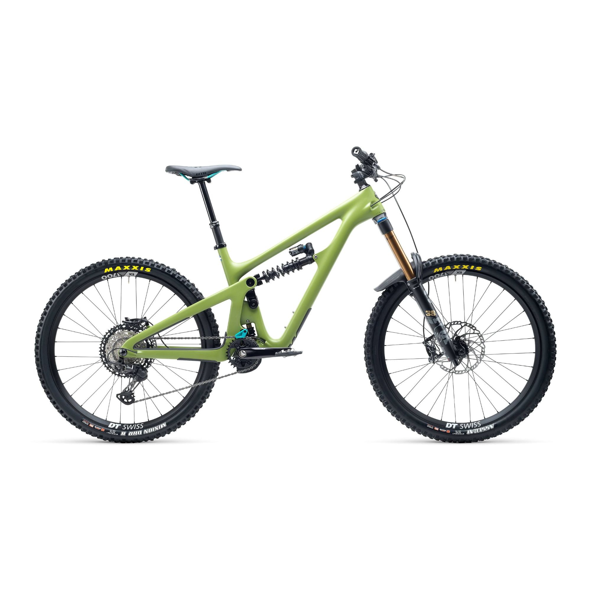 Yeti SB165 T Series T1 27.5 XT Carbon Mountain Bike 2021 Moss Green