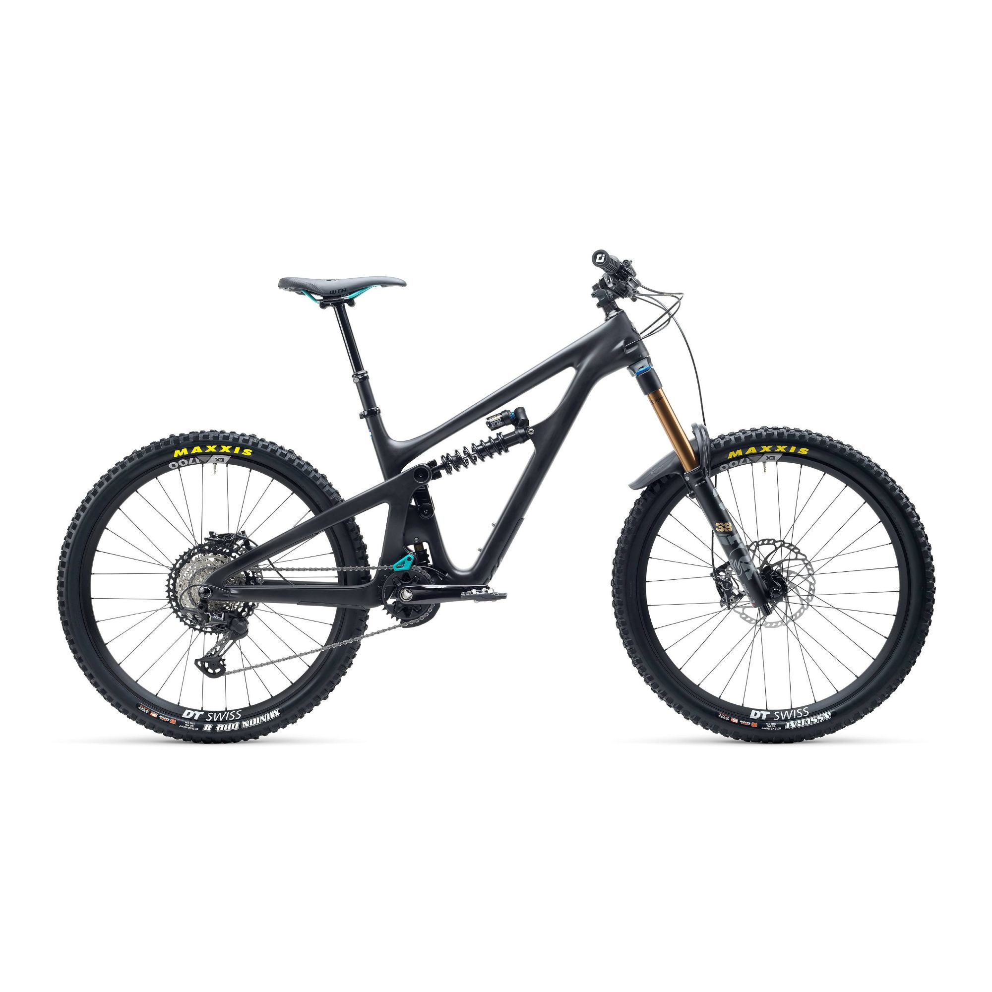 Yeti SB165 T Series T1 27.5 XT Carbon Mountain Bike 2021 Raw / Grey