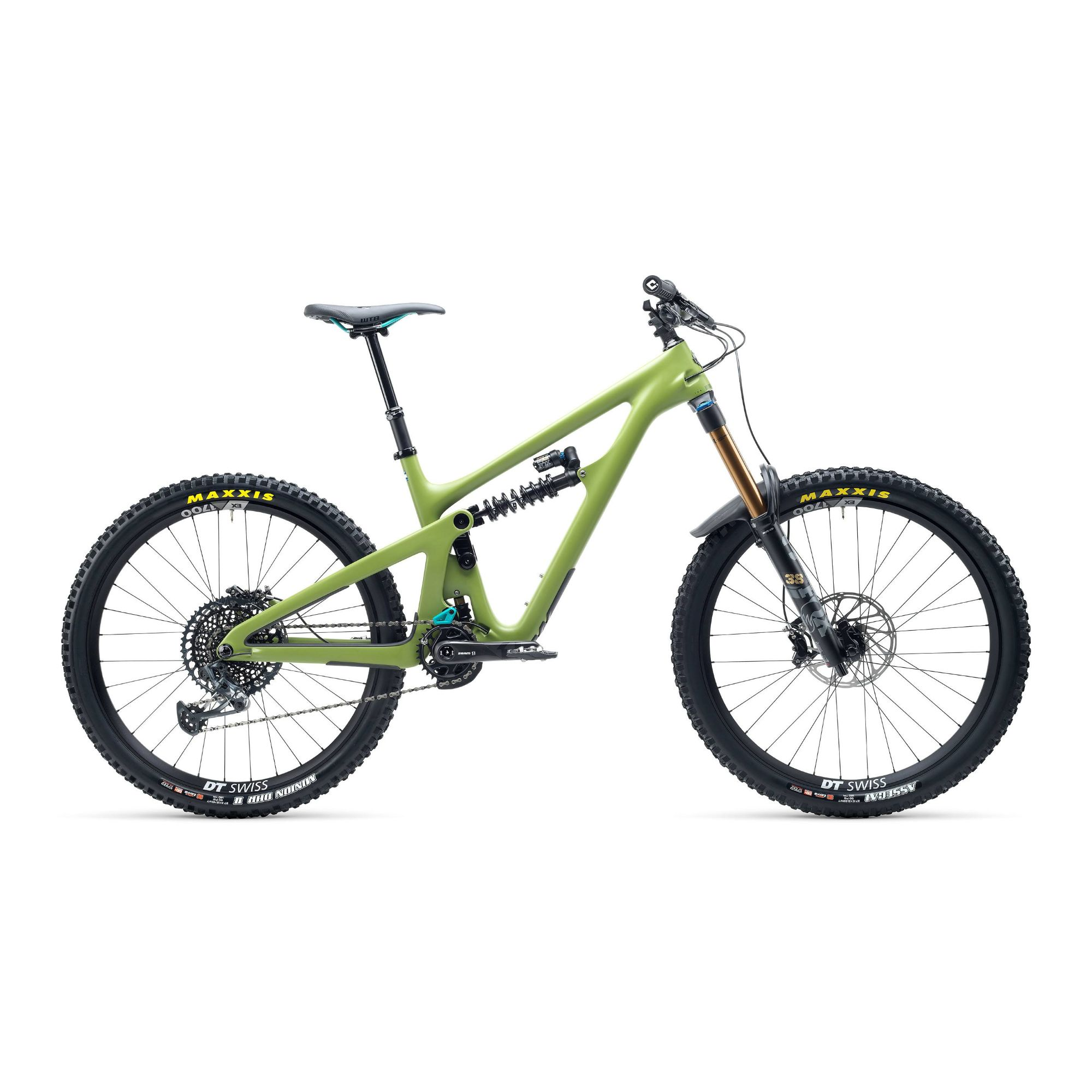 Yeti SB165 T Series T2 27.5 GX Carbon Mountain Bike 2021 Moss Green